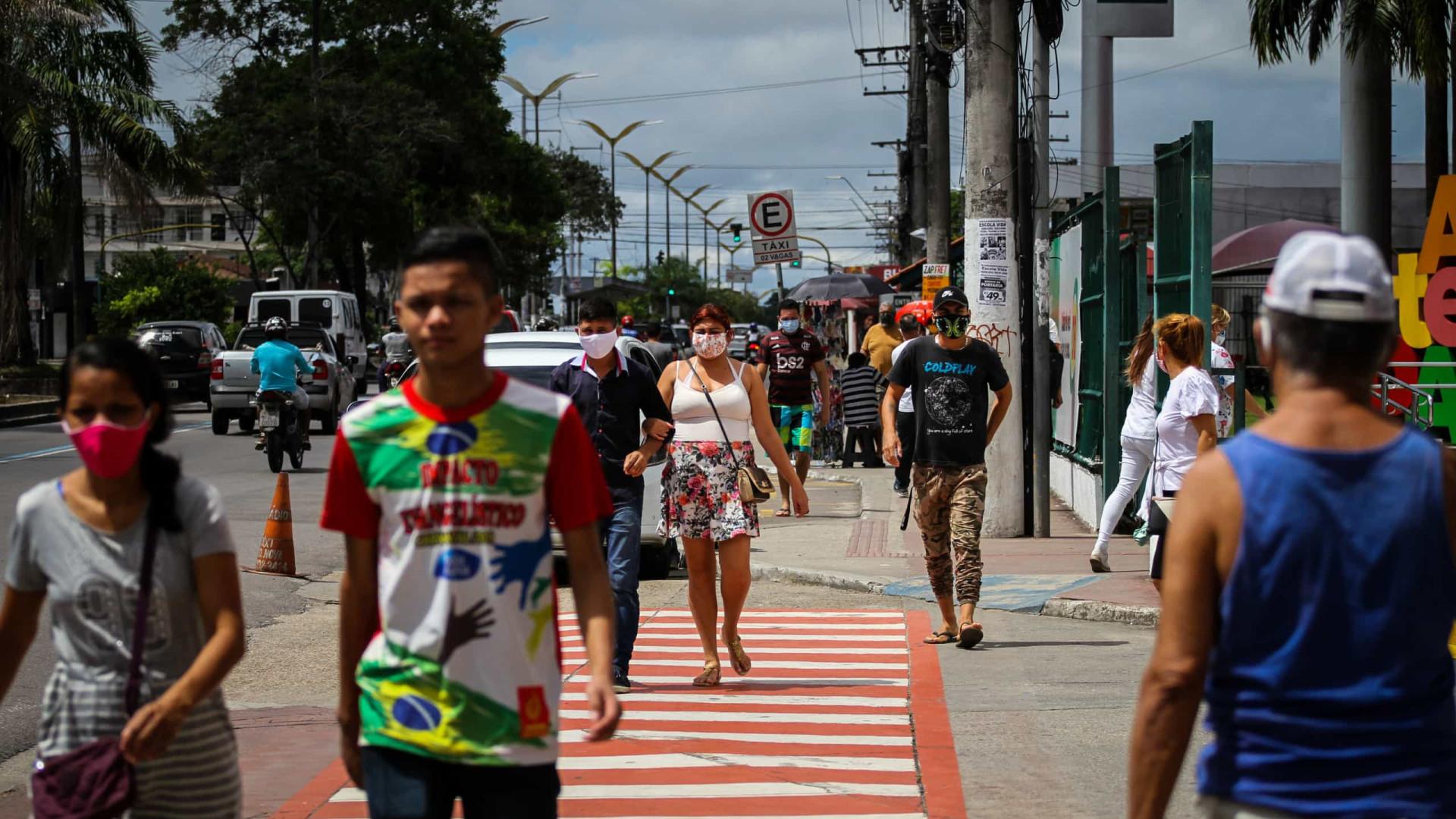Brasil supera os 4 milhões e está perto das 125 mil mortes