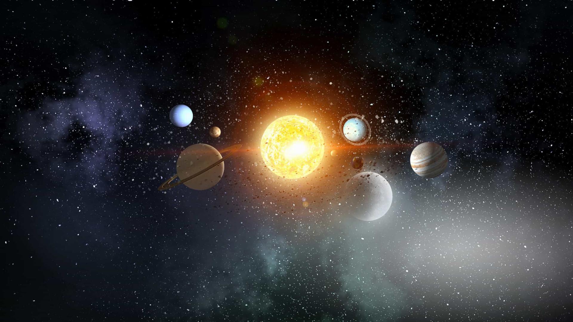 Sistema Solar foi formado depois de colisão de galáxias, diz estudo