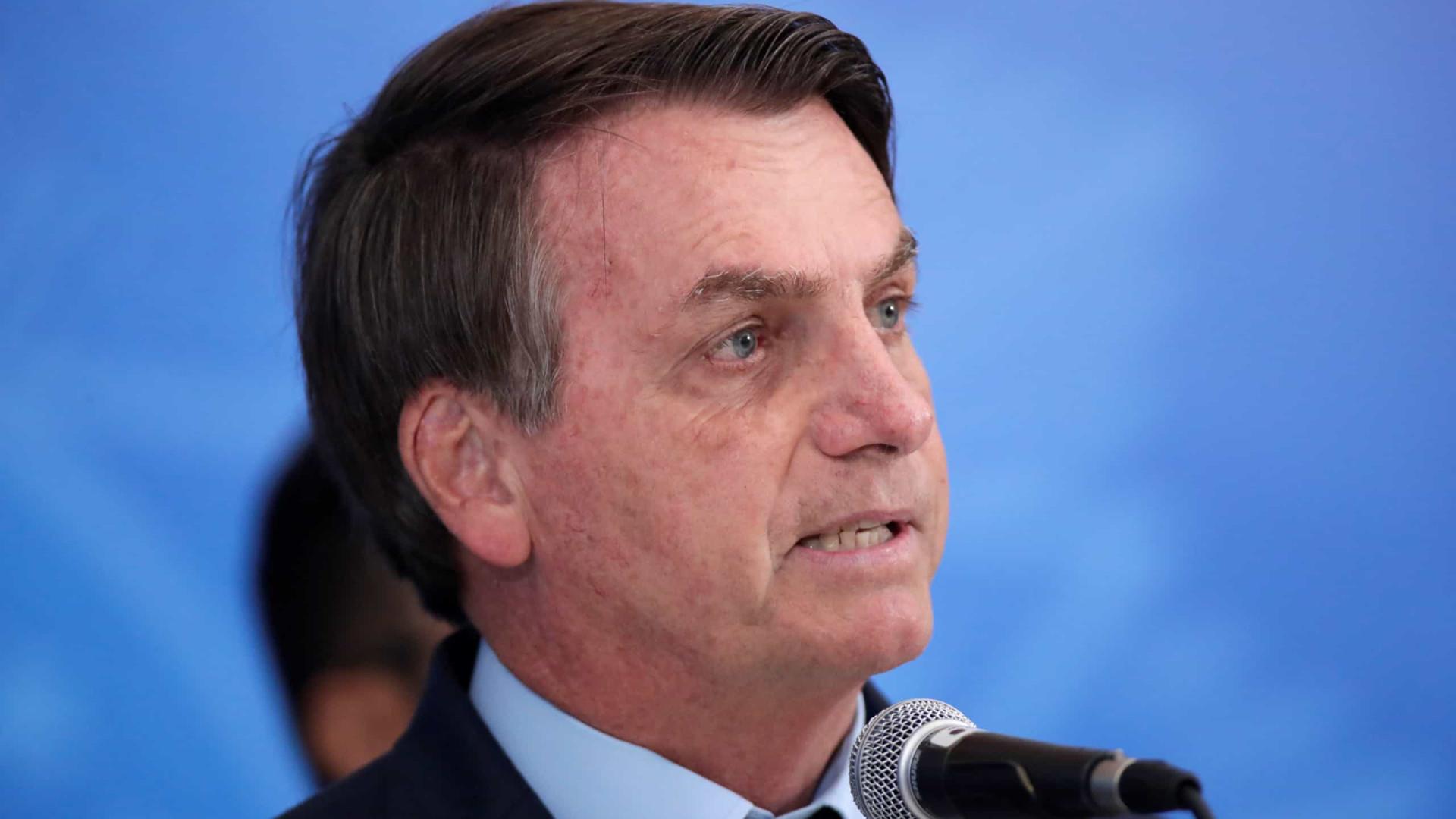Bolsonaro:'Está chegando a hora de colocar tudo no seu devido lugar'