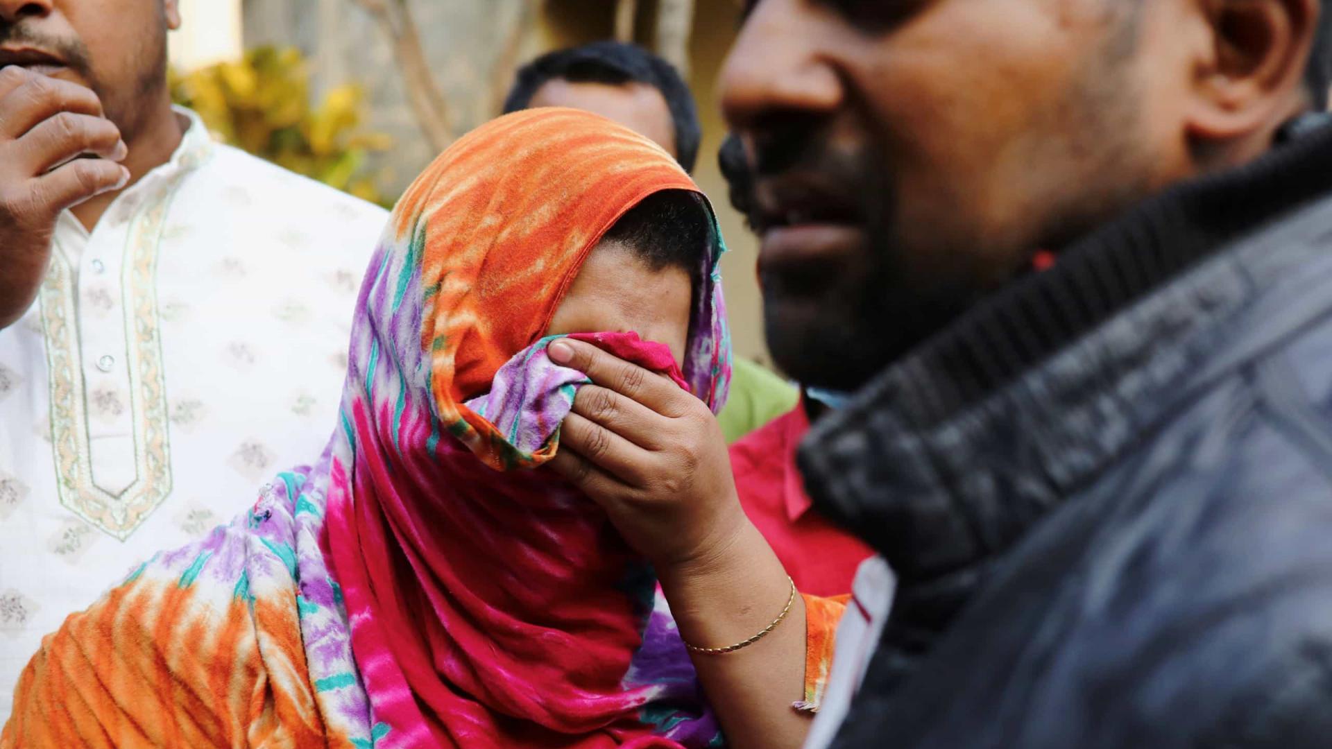 Incêndio em hospital causa cinco mortes no Bangladesh