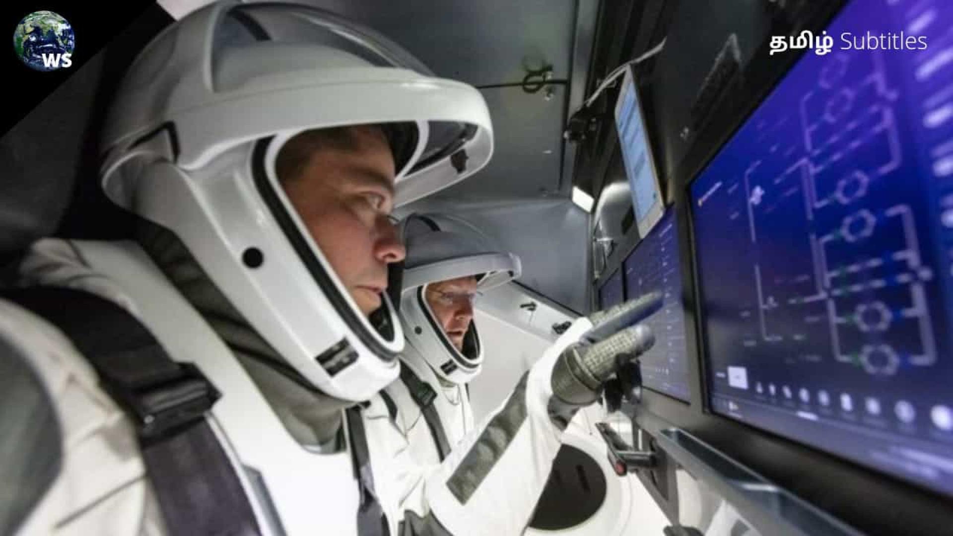 Dois astronautas da SpaceX preparam-se para lançamento histórico