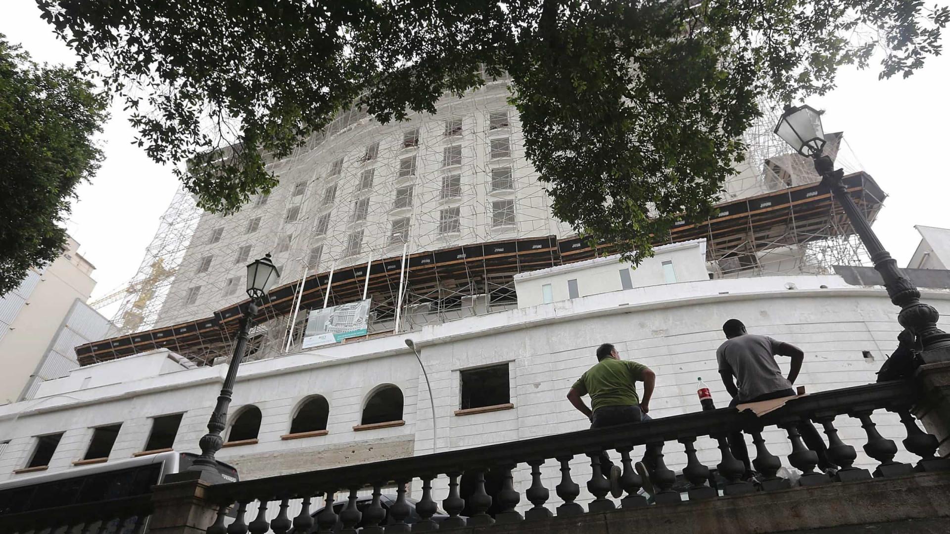 Histórico Hotel Glória no RJ vai virar prédio residencial