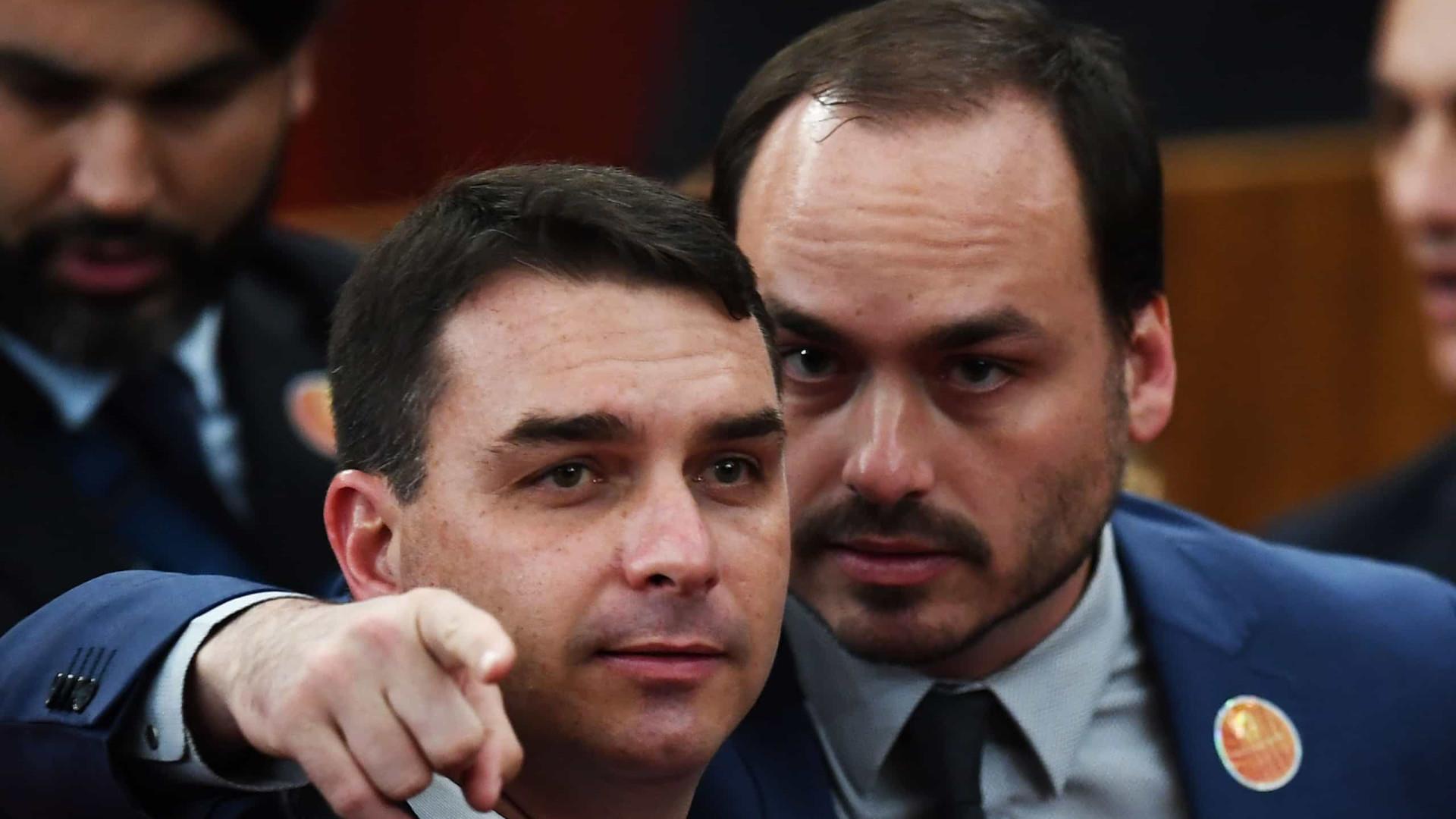 Quebra de sigilo em caso Carlos é mais restrita do que em apuração sobre Flávio Bolsonaro