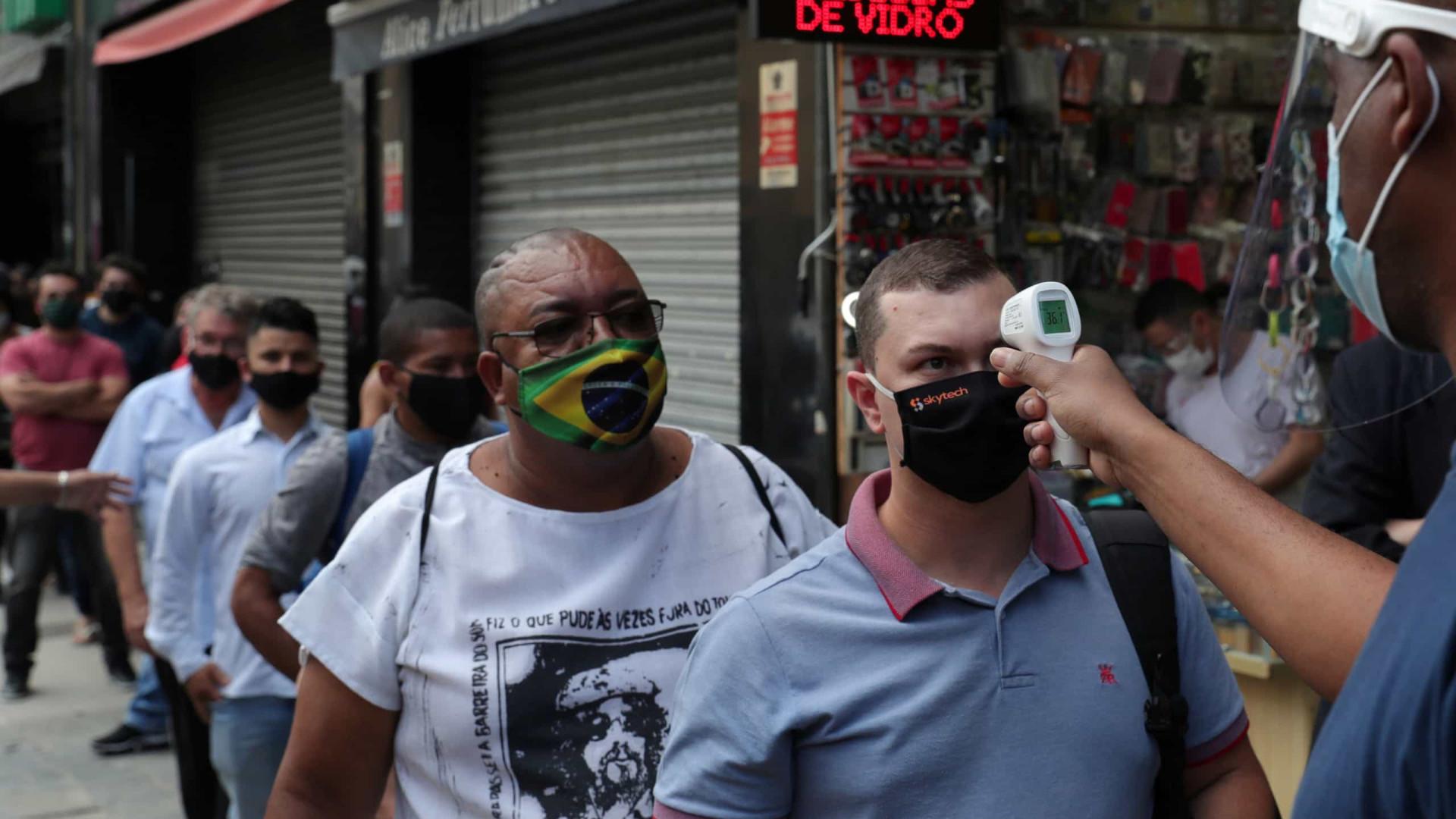 São Paulo tem mais de 167 mil casos confirmados de covid-19