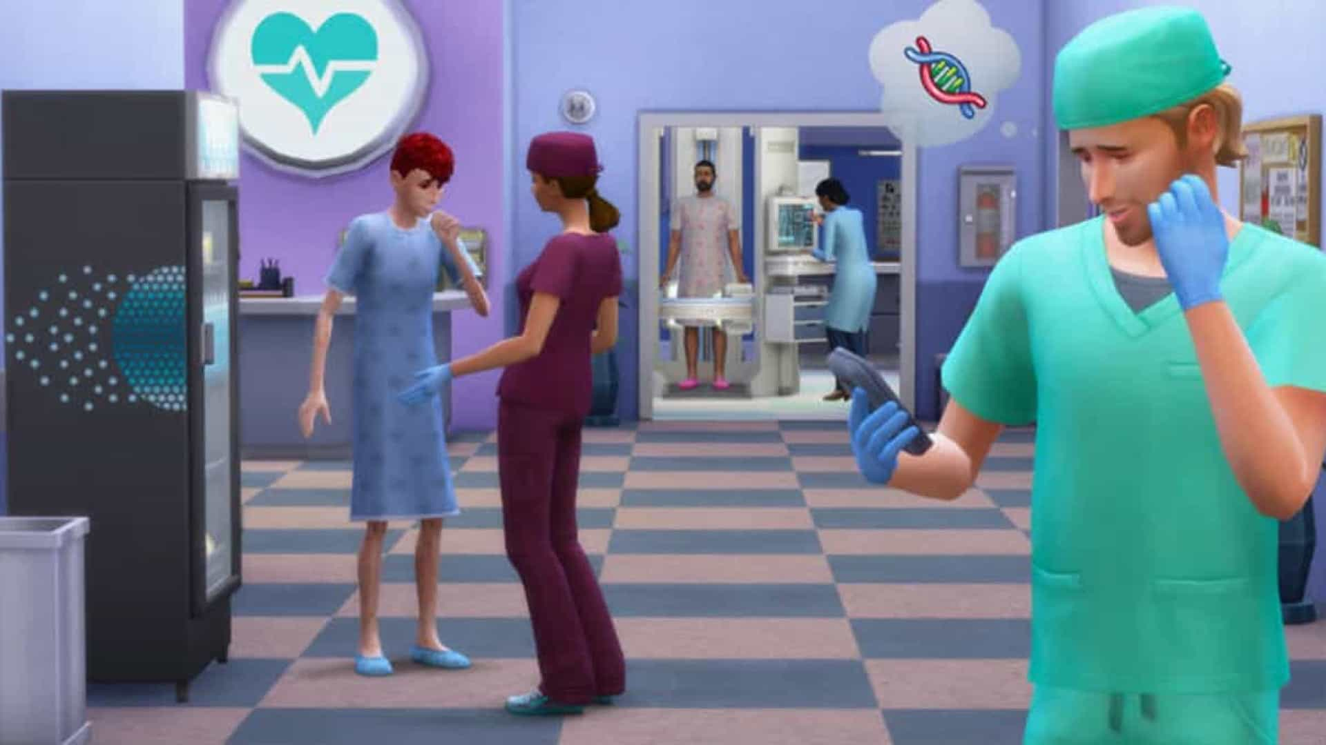 Gamers estão recriando a pandemia de coronavírus no 'The Sims'