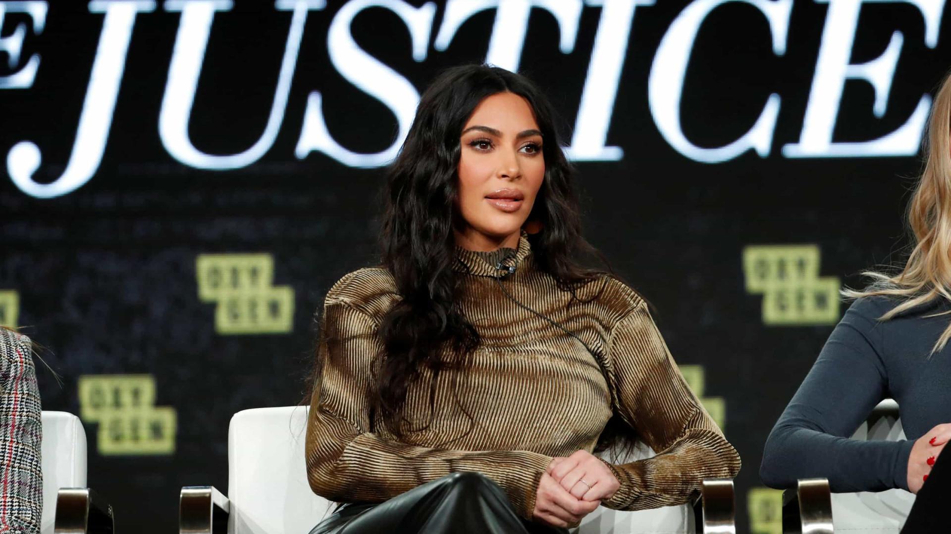 Kim Kardashian West terá podcast exclusivo no Spotify