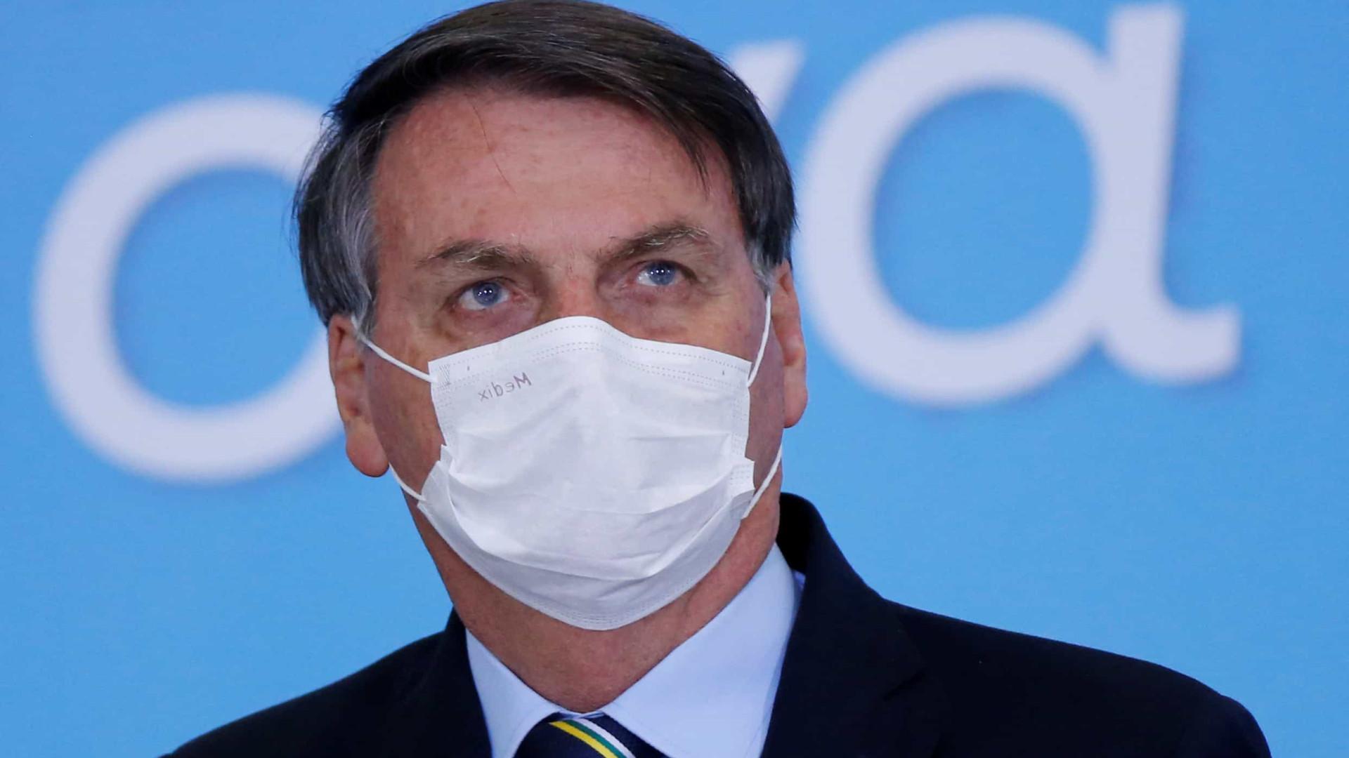 Bolsonaro: 'paz e harmonia' entre Poderes pelo 'bem-estar' da população