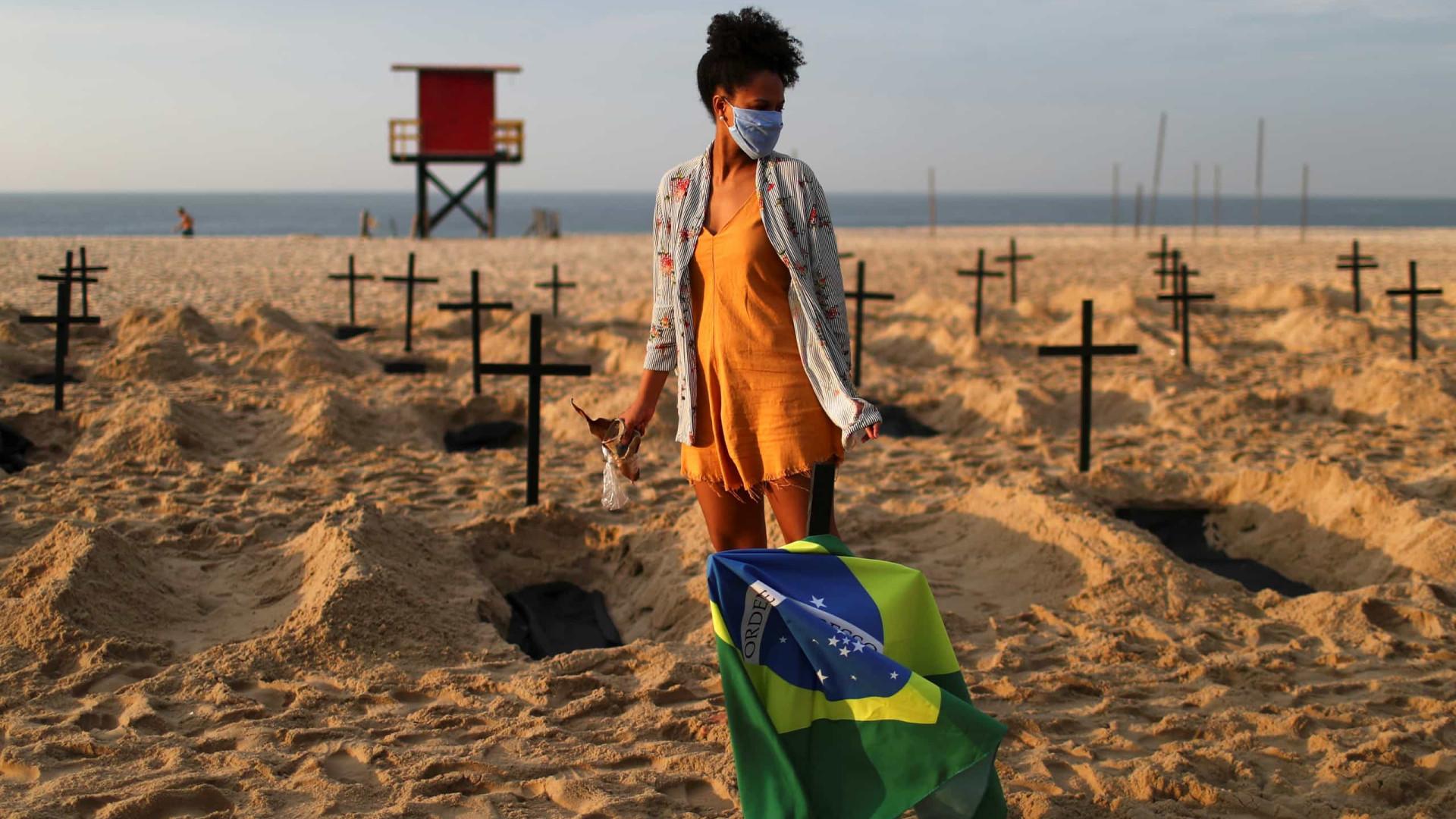 País registra 654 novas mortes em 24h; total chega a 51.271
