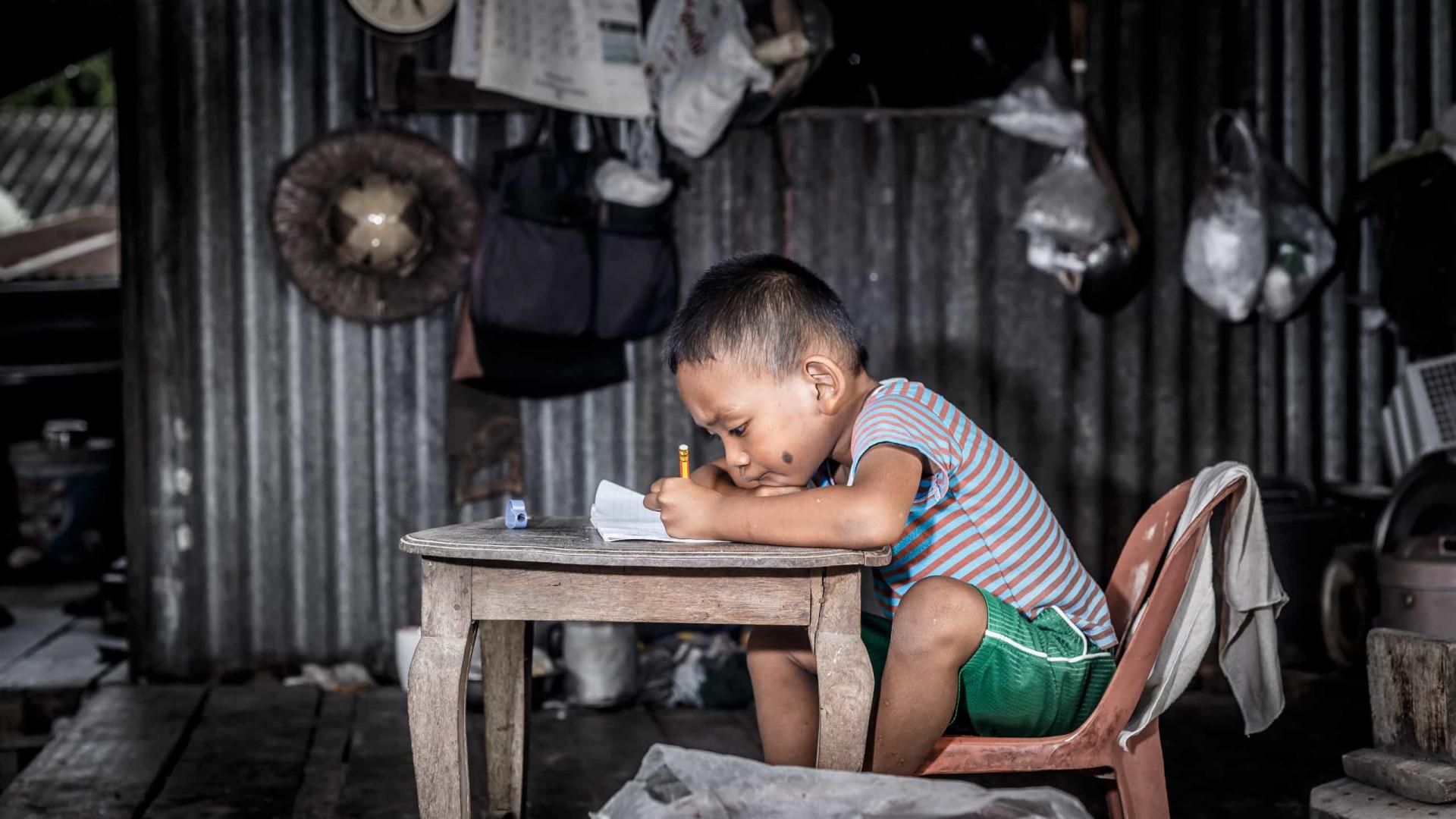 40% dos países pobres não apoiam estudantes mais vulneráveis na crise