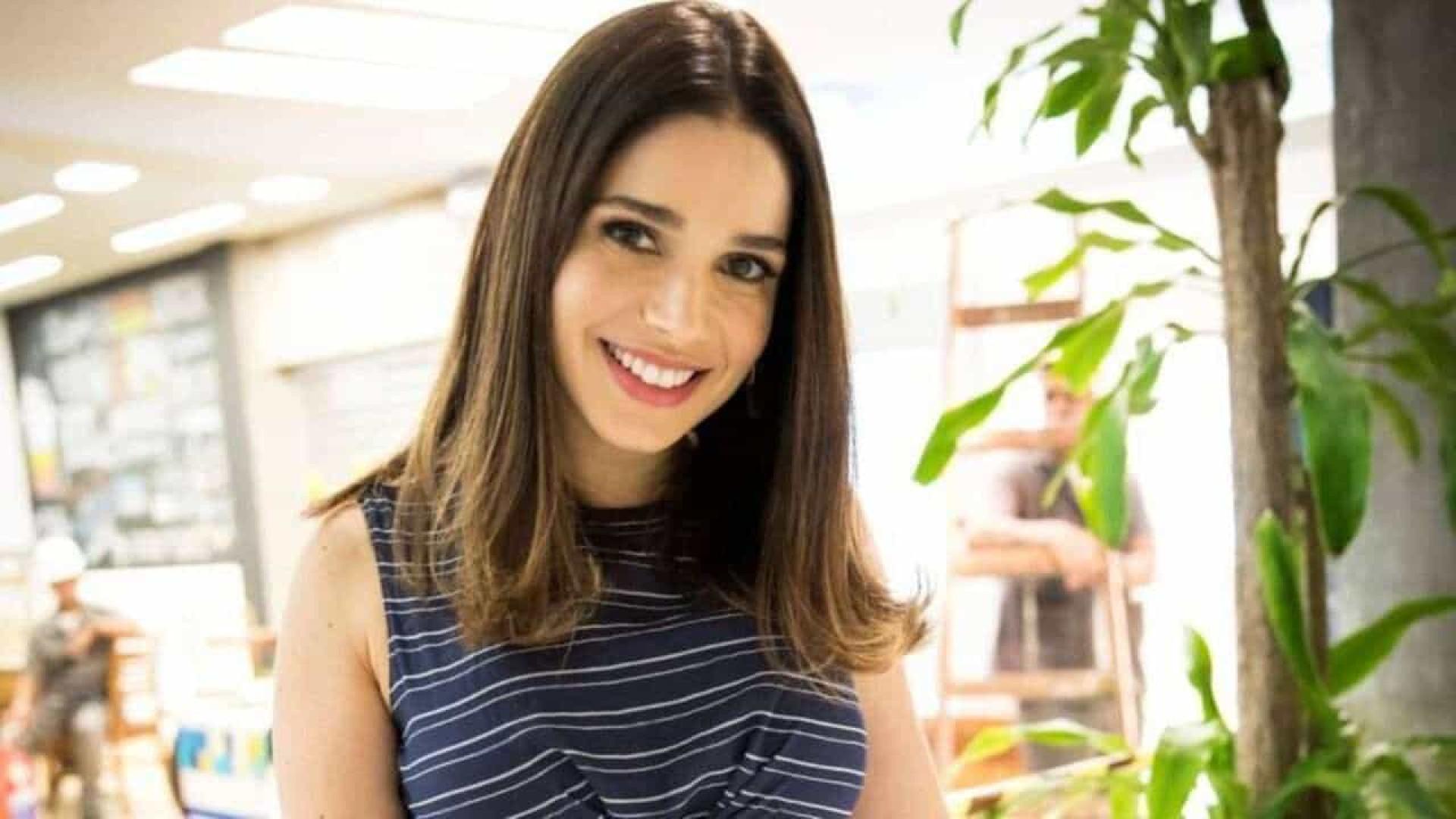 Grávida de quatro meses, Sabrina Petraglia diz que espera uma menina