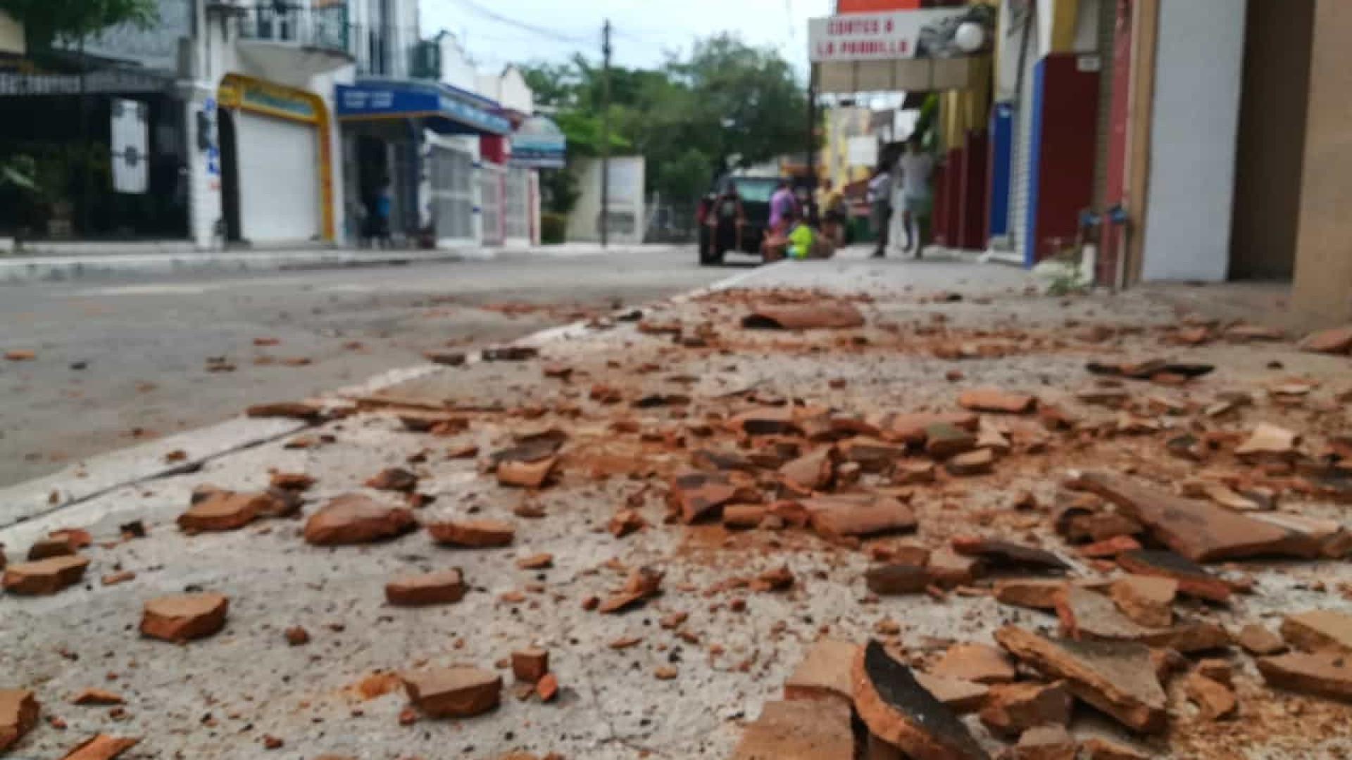Pelo menos um morto em sismo no sul do México