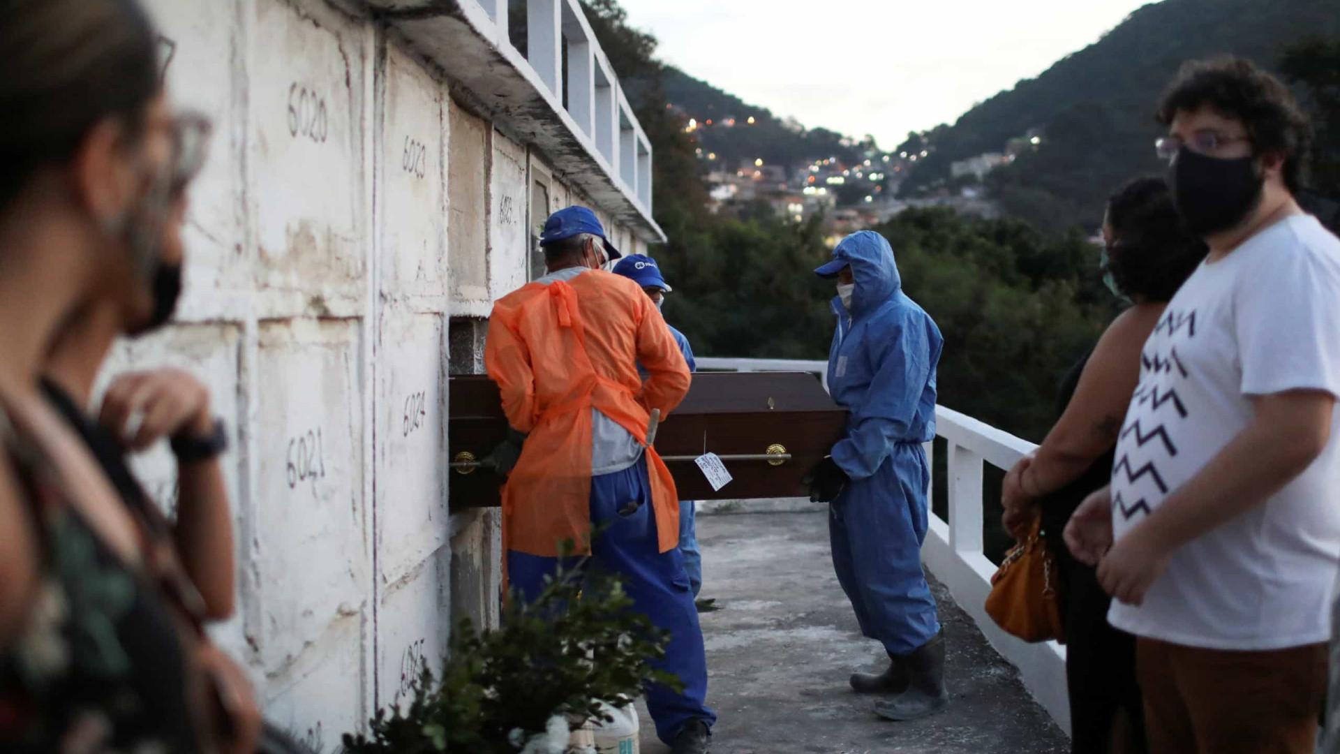 Brasil registra 2.787 mortes por covid-19 em 24h; total chega a 303.462