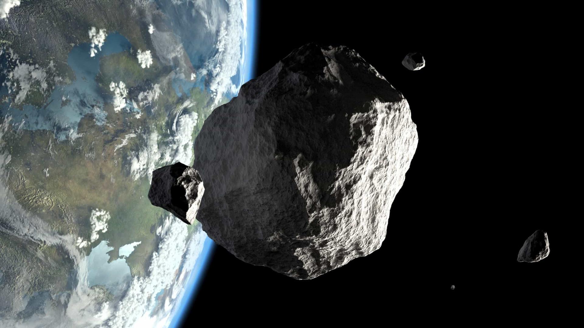 Asteroide passará próximo da Terra esta quarta-feira