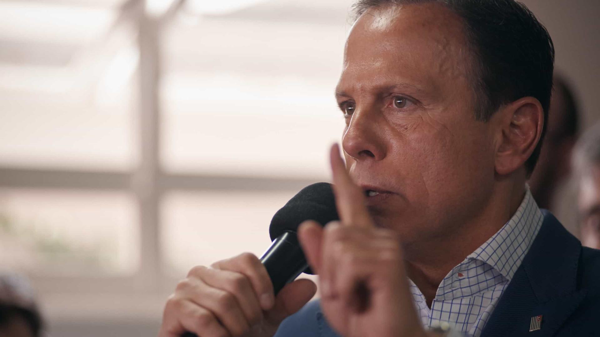 Doria fala em 'ineficiência' do Ministério da Saúde e lamenta vazamento de dados
