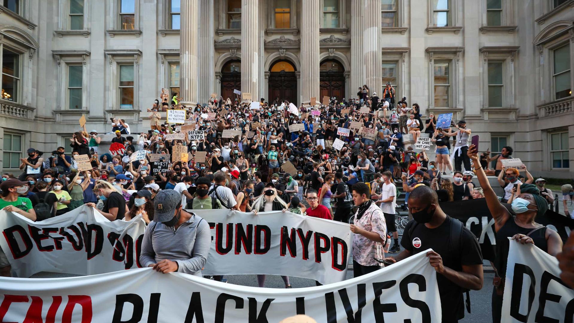 Protestos do Black Lives Matter não geraram subida de casos nos EUA