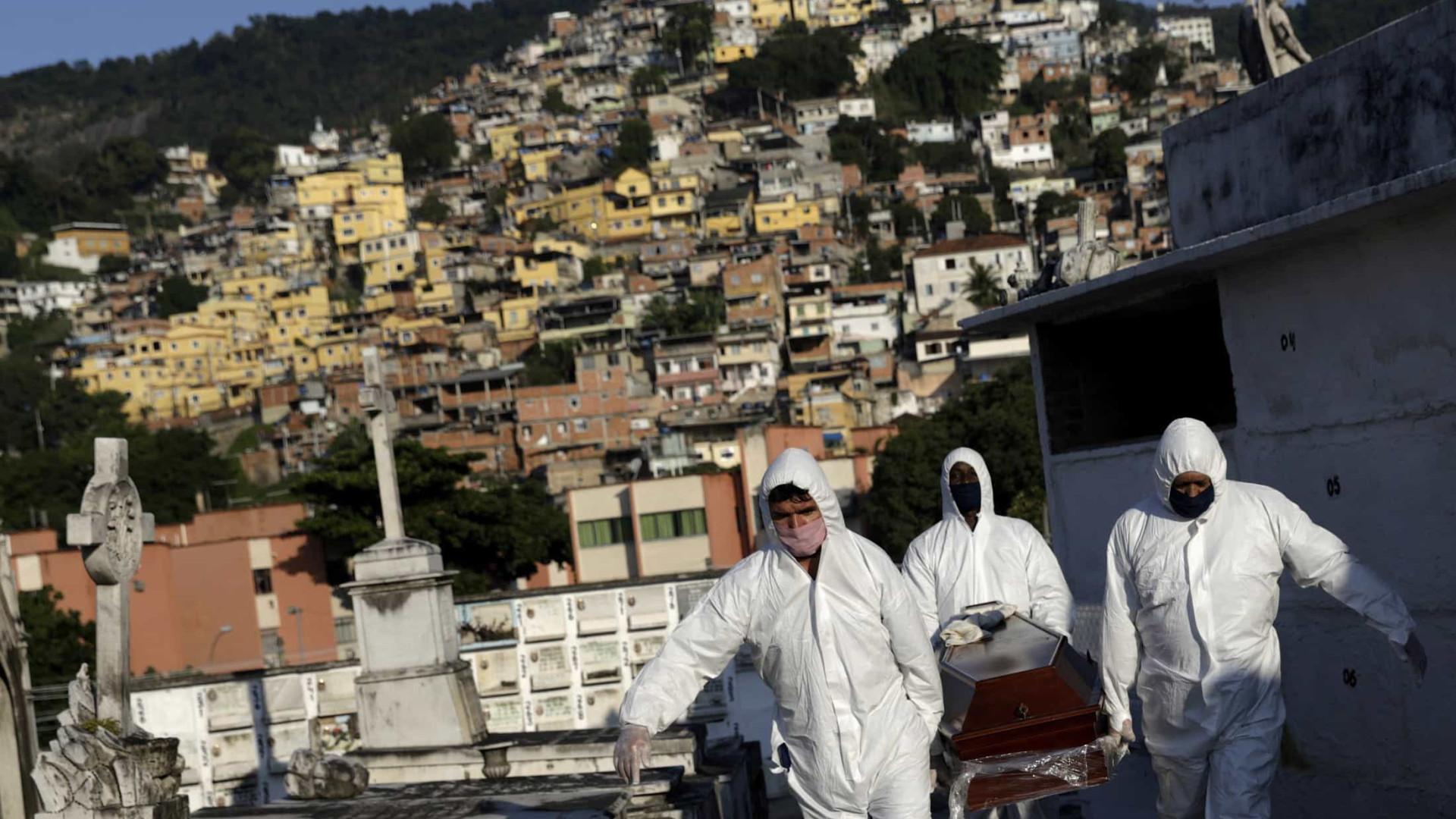 Covid-19: Brasil tem 144 mil mortes e 4,84 milhões de casos acumulados