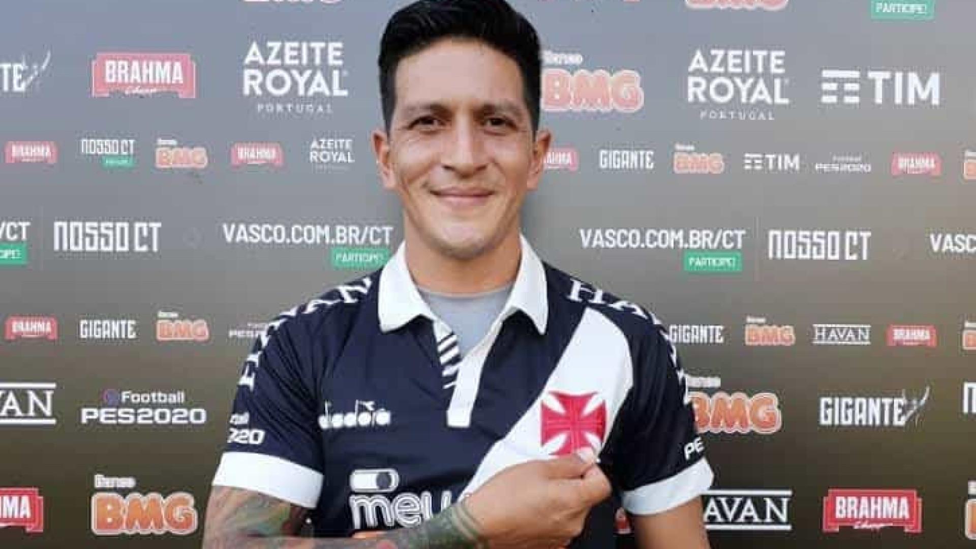 Cano se mostra satisfeito em ajudar o Vasco: 'Fico muito feliz'