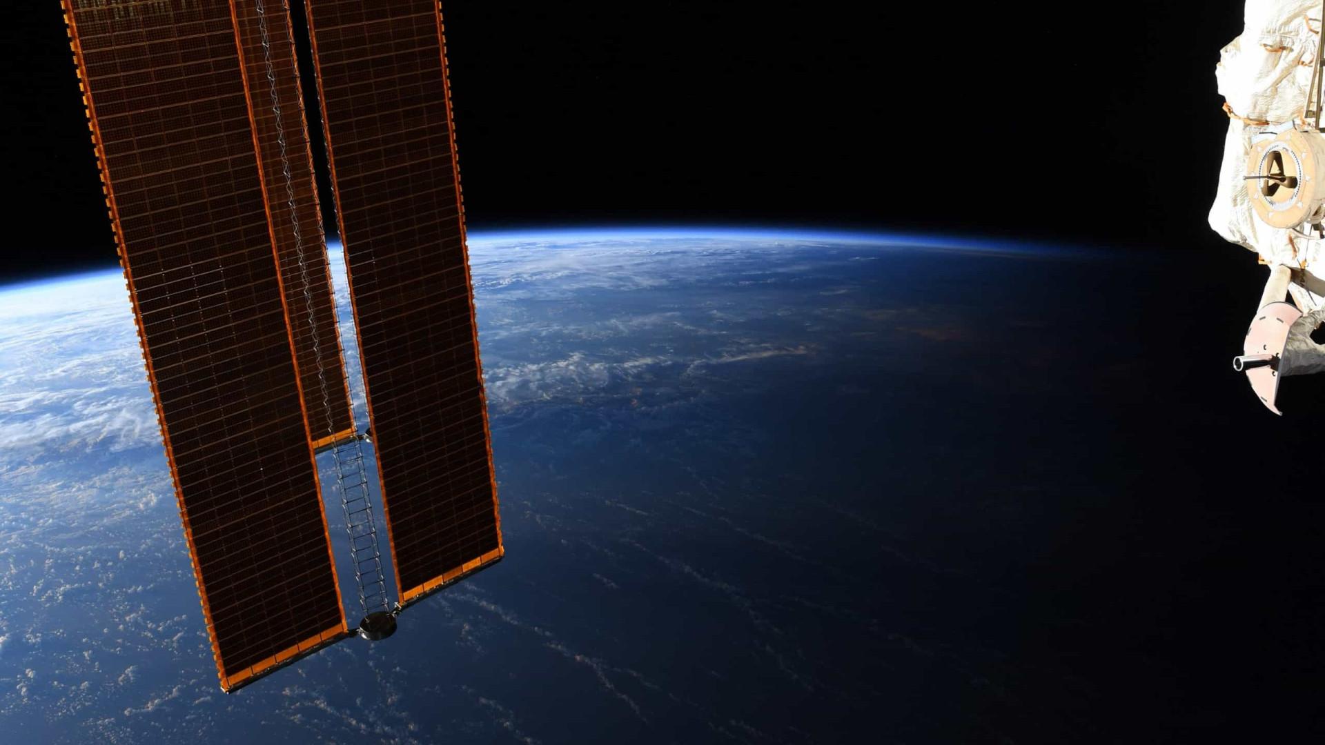Fotografia de astronauta mostra 'fronteira' entre dia e noite