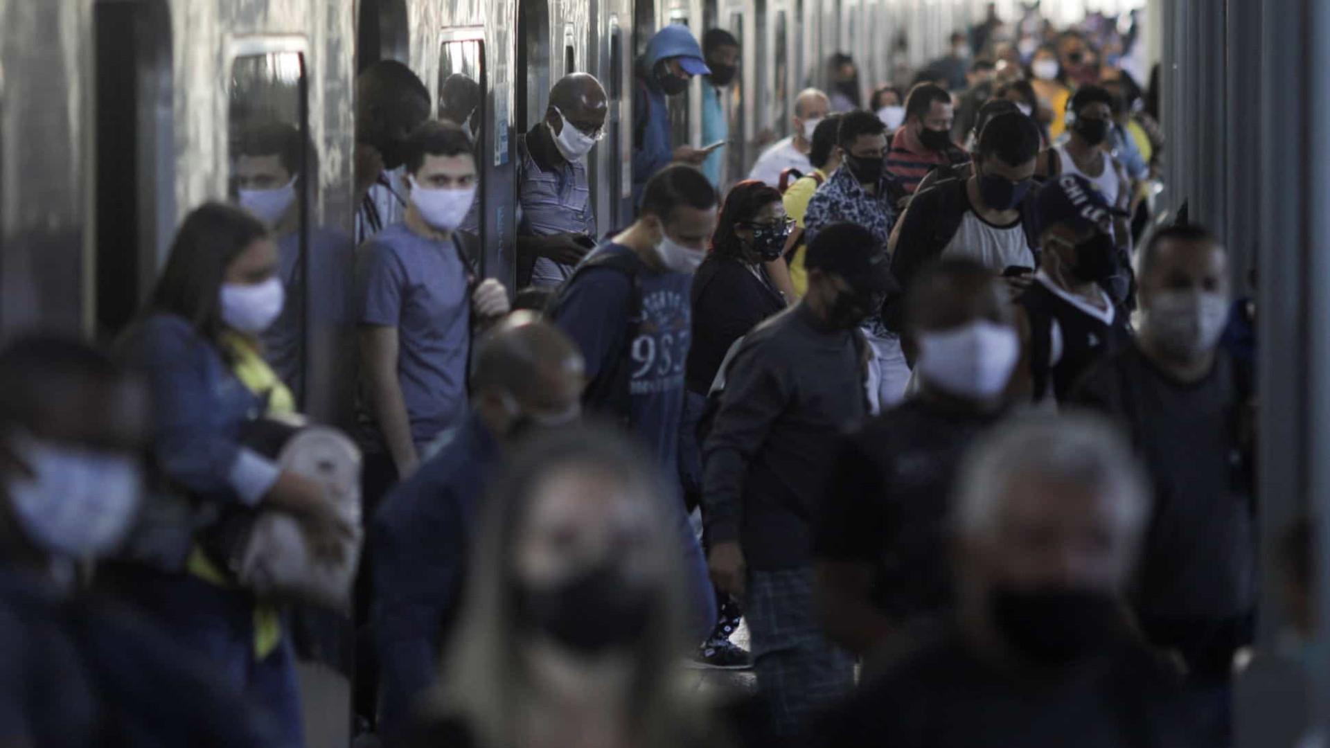 Saúde: País registra 1.280 mortes em 24h, total chega a 59.594