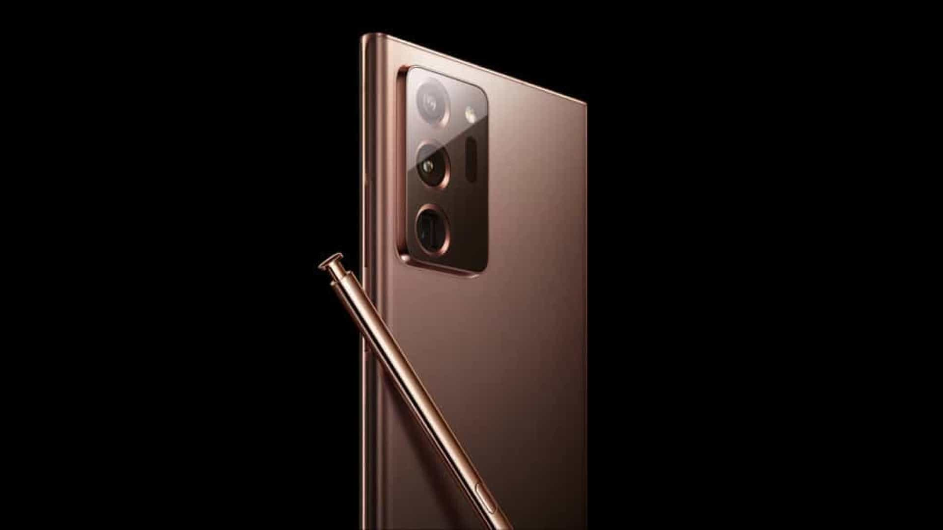 Imagens revelam nova cor do Galaxy Note 20 da Samsung