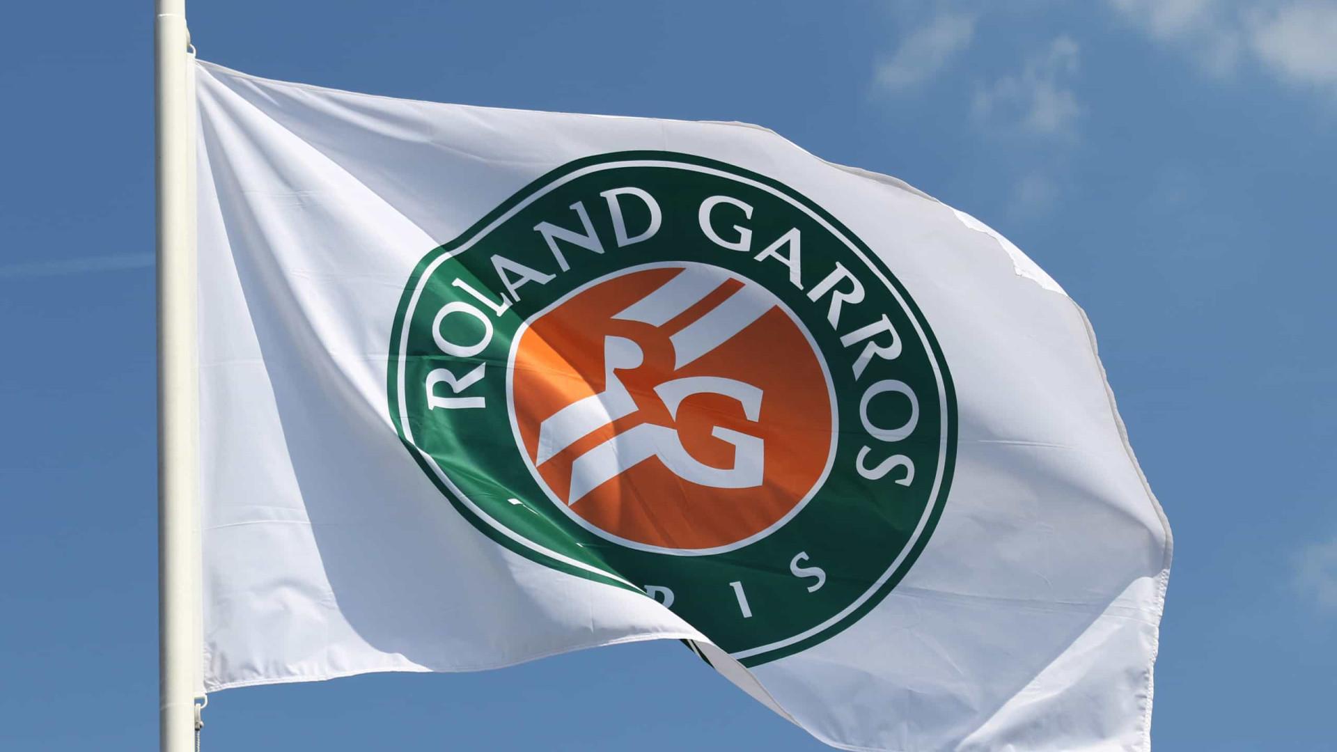 Com até 60% da capacidade, Roland Garros terá presença nas quadras