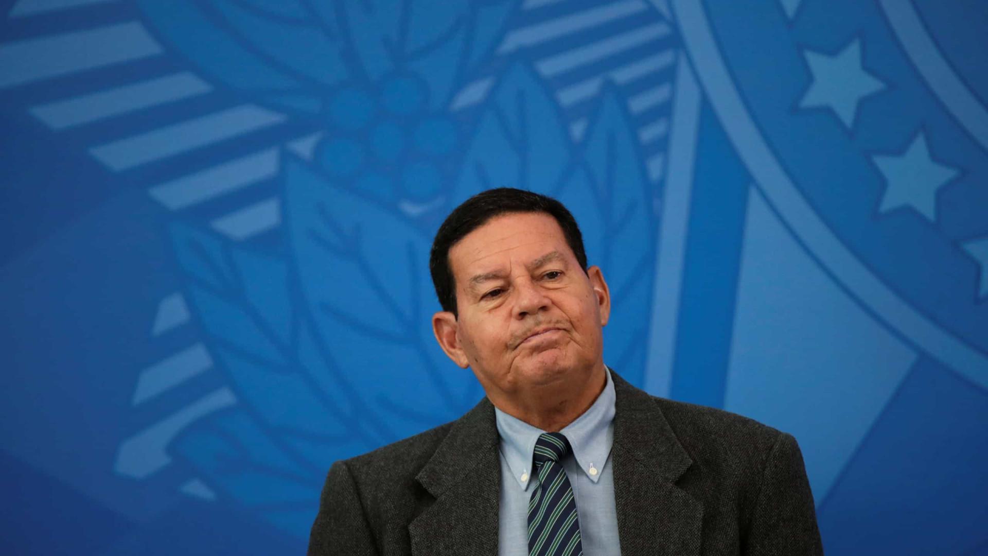 Teto de gastos é a grande âncora fiscal, diz Mourão