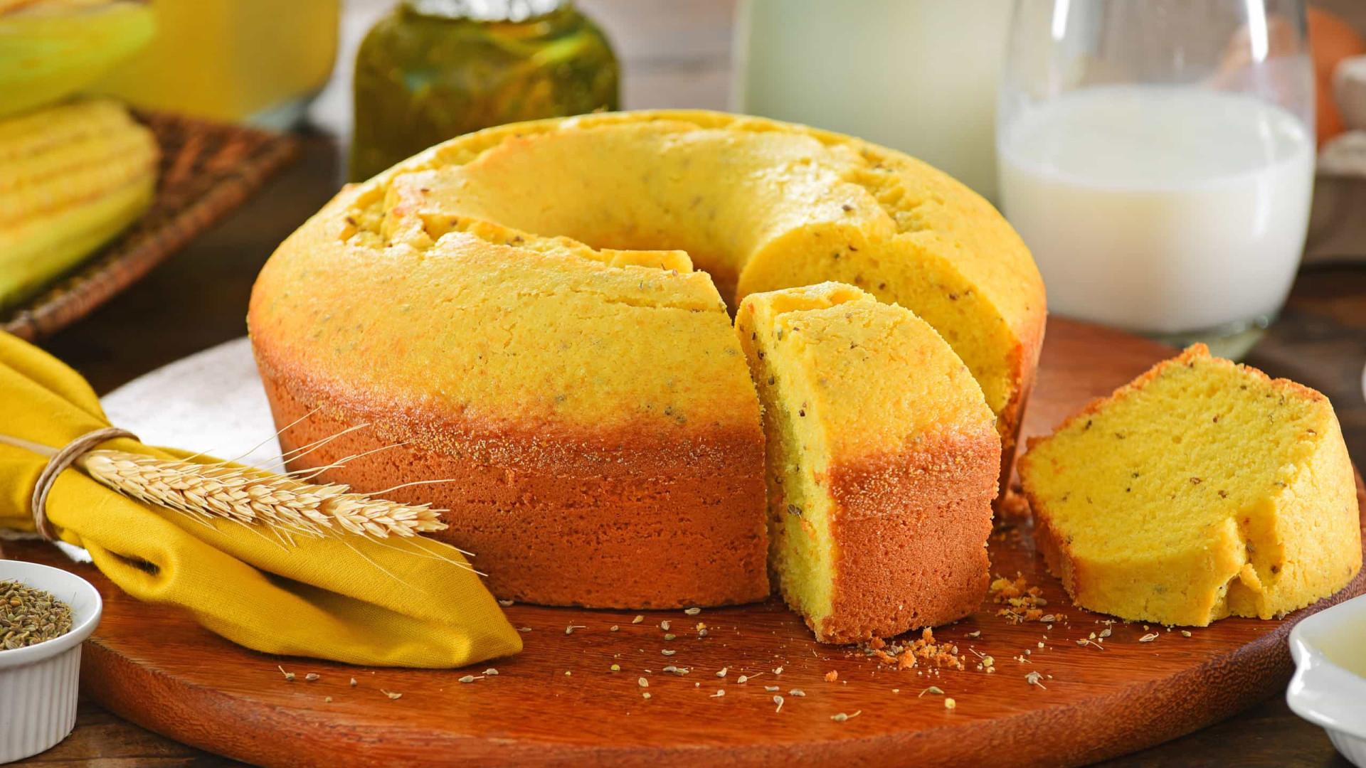 Bolo fofo de milho. Aprenda a receita fácil e deliciosa