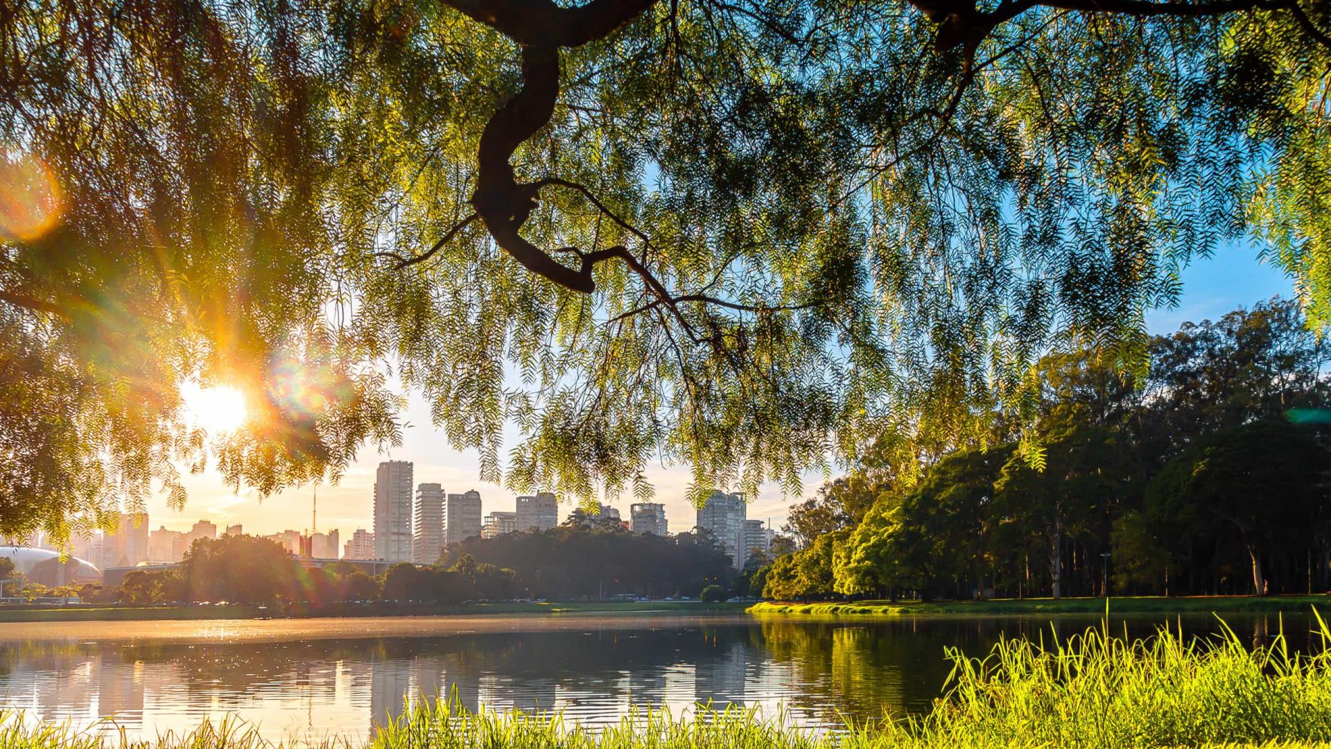 São Paulo abre quatro parques urbanos na segunda-feira