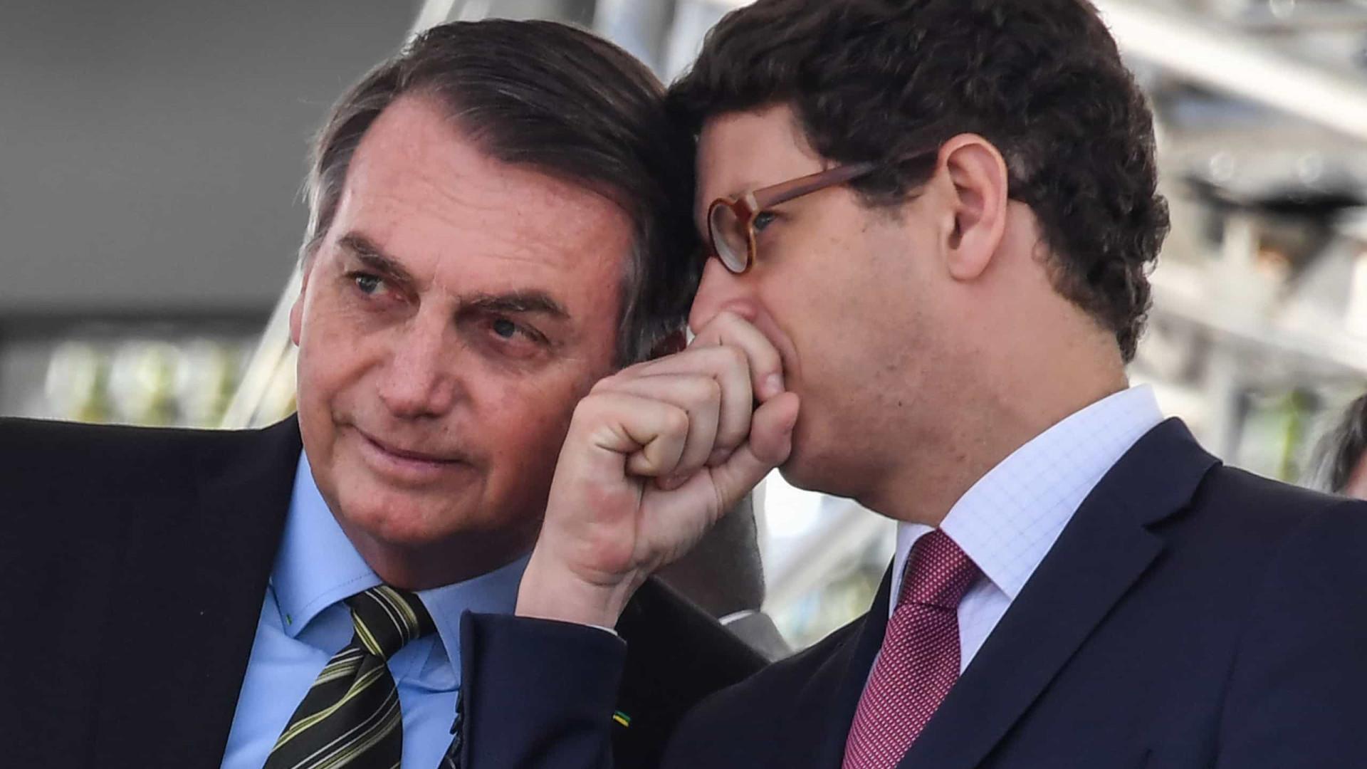 Bolsonaro diz que Ricardo Salles foi um excelente ministro do Meio Ambiente
