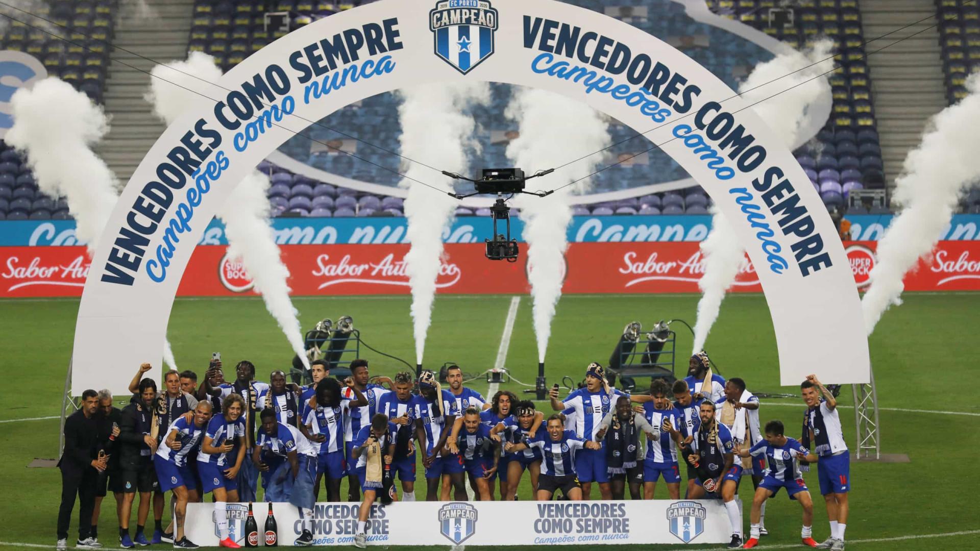 Porto vence o clássico diante do Sporting e garante o 29º título