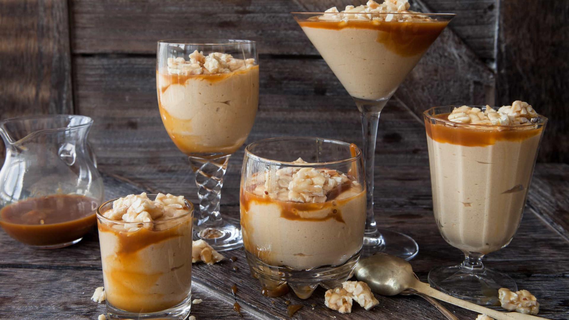 Dias doces: que tal uma deliciosa mousse de amendoim?