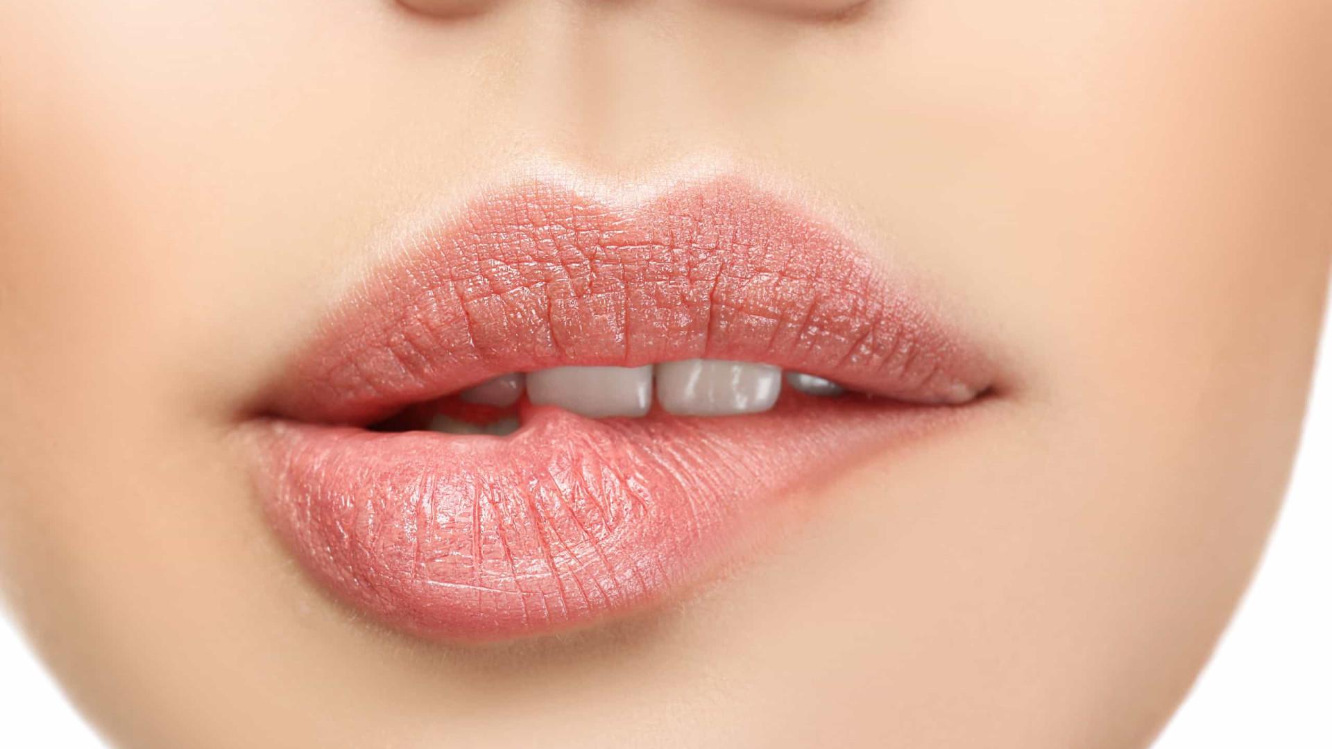 Lábios bonitos e saudáveis: Três regras