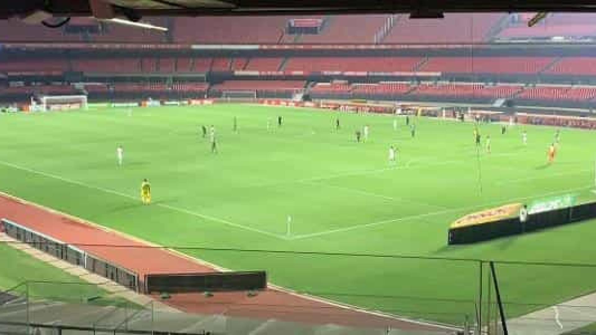 São Paulo empata com o Vasco no Morumbi e perde chance de se igualar aos líderes