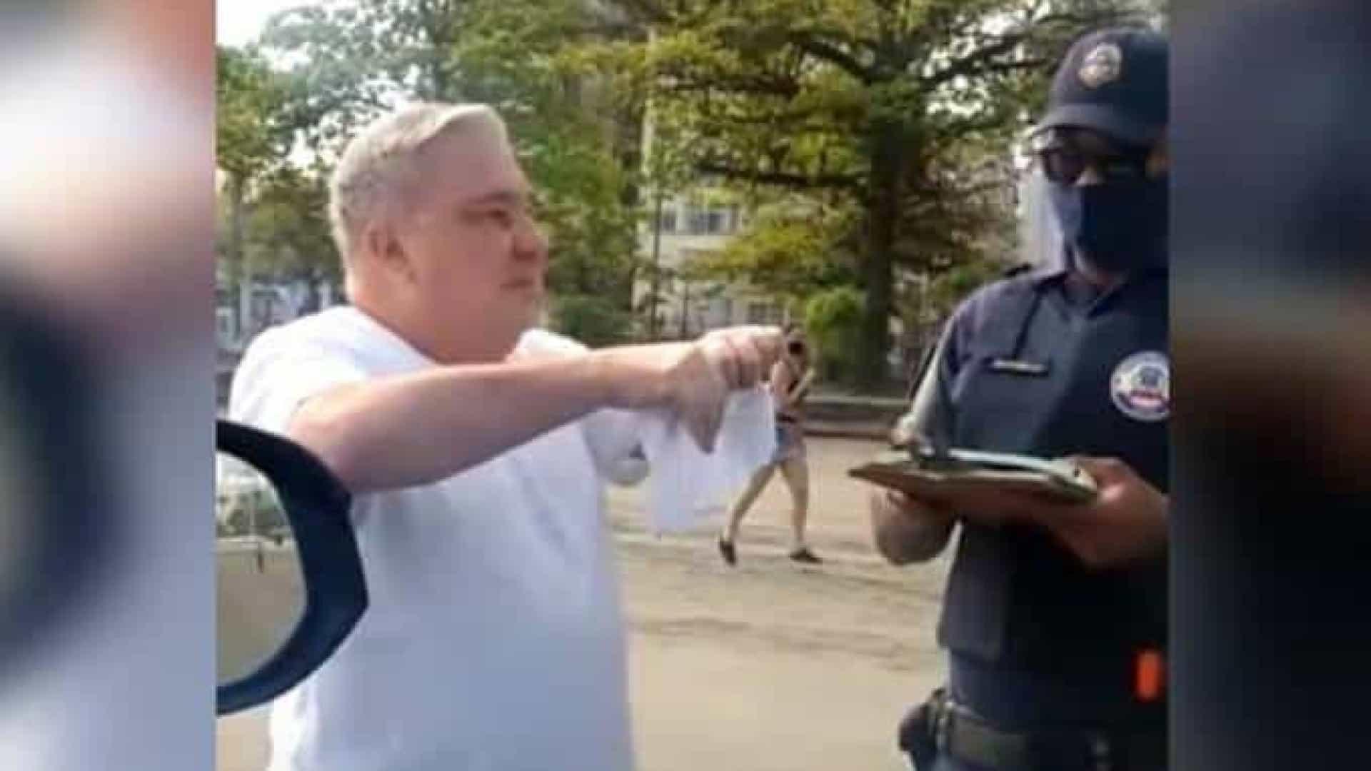 Desembargador que ofendeu guarda alega em recurso que sofre de 'mal psiquiátrico'