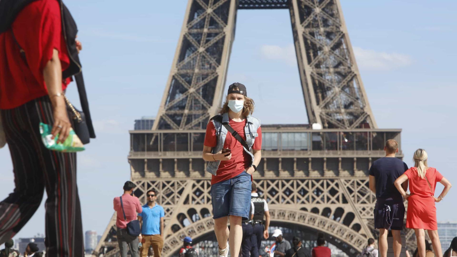França registra 1.346 novos casos de Covid-19 em apenas 24 horas