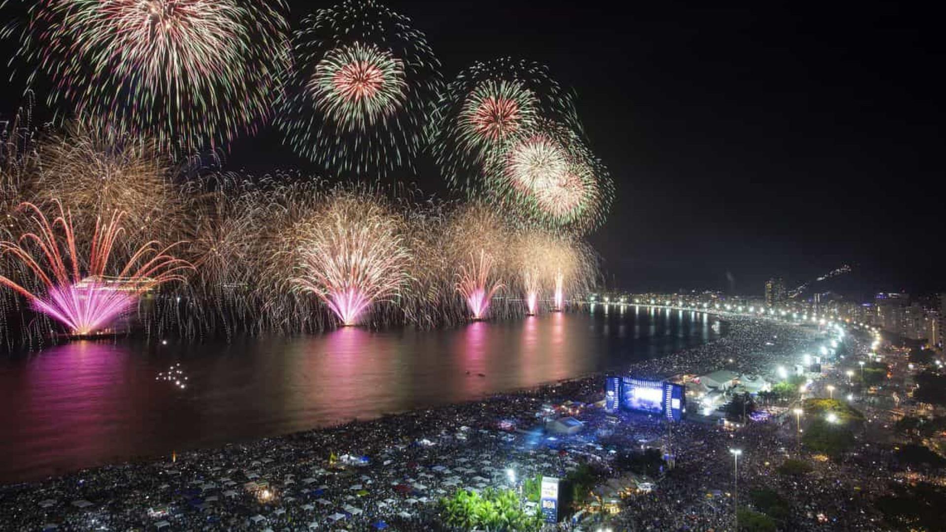 Hotéis sugerem que Rio descentralize réveillon para evitar aglomeração