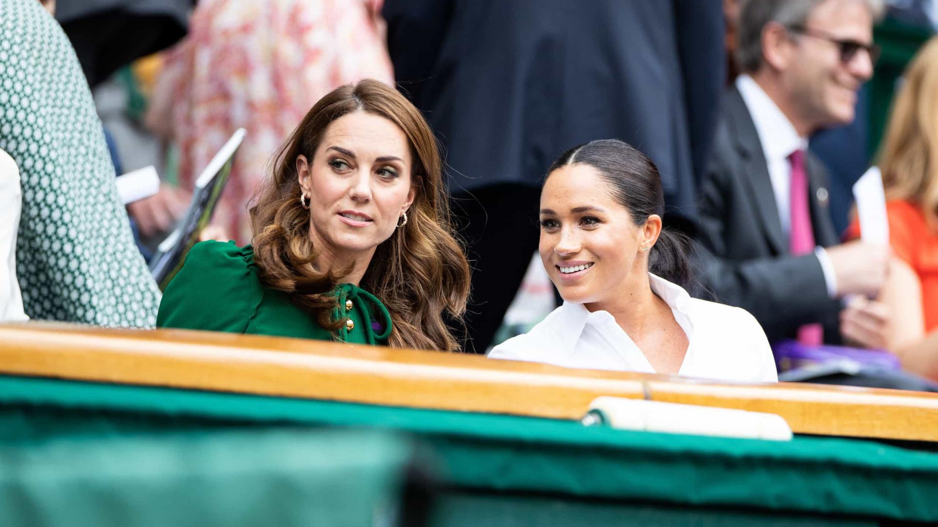 Biografia afirma que Meghan e Kate Middleton 'não estavam em guerra'