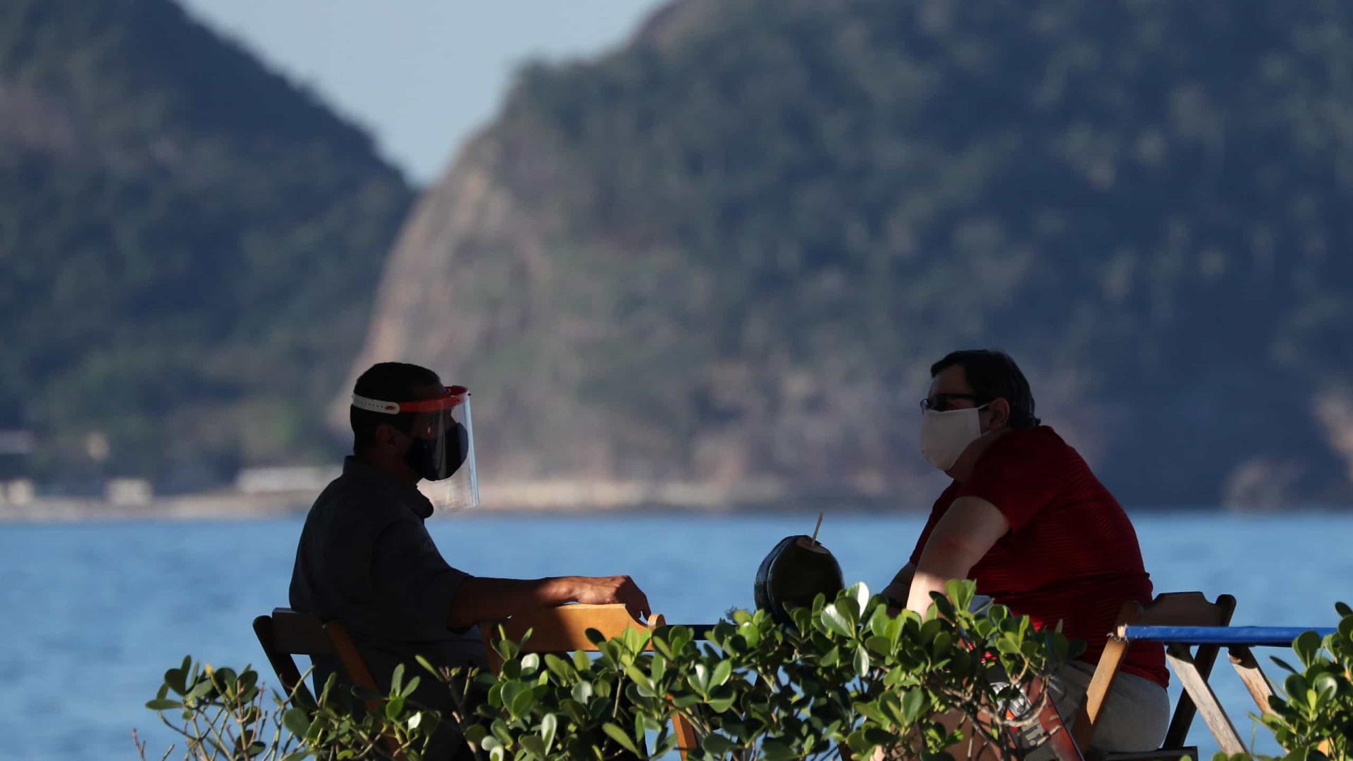 Estado do Rio de Janeiro registra mais 129 mortes por covid-19