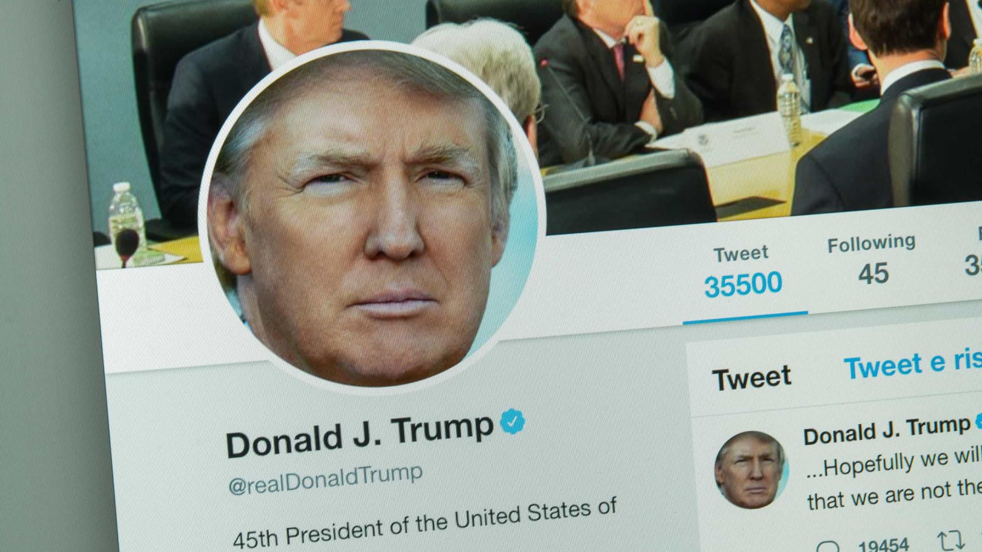 Insatisfeito com 'Tendências', Trump acaba ridicularizado no Twitter