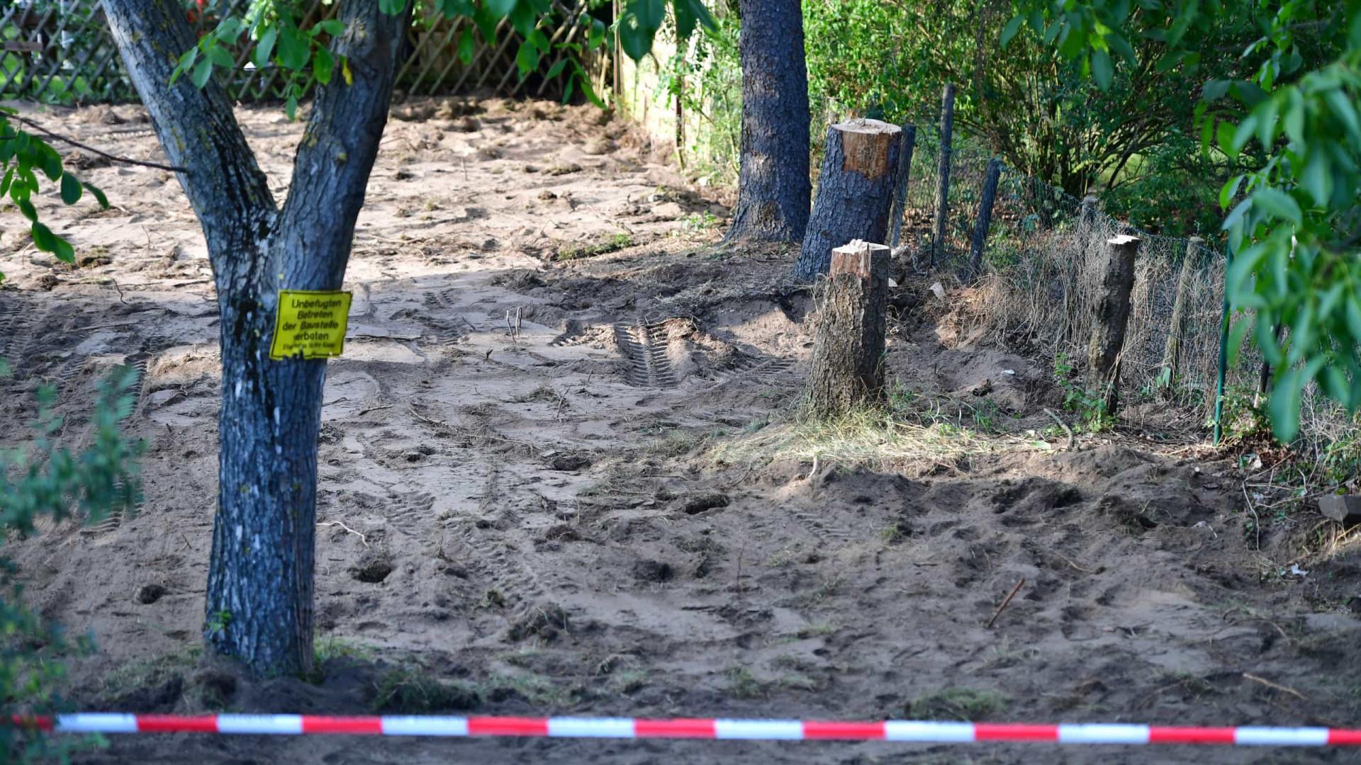 Caso Maddie. Polícia alemã termina escavações em terreno de suspeito