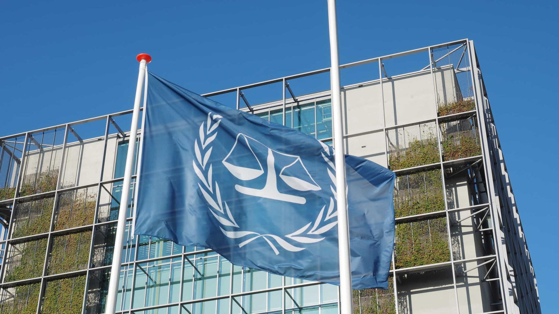 Tribunal Internacional descarta mais de 90% dos pedidos de investigação