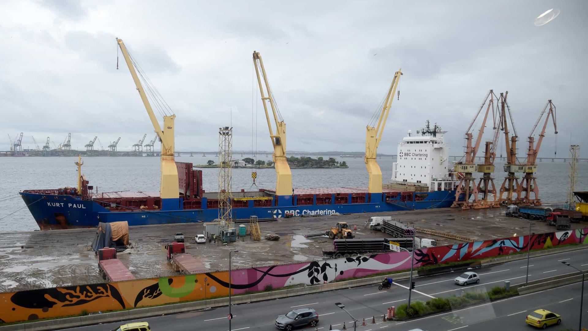Senado aprova mudanças na legislação portuária devido àcovid-19
