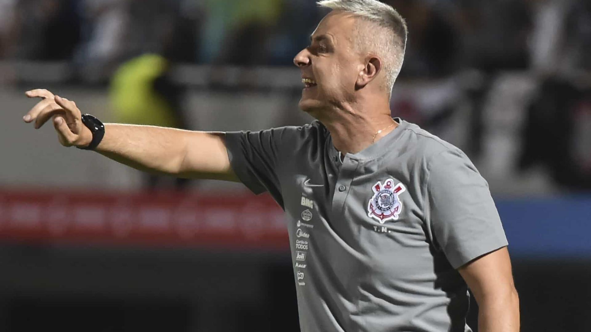 Tiago Nunes vê o Corinthians bem e afirma que Mirassol não é zebra
