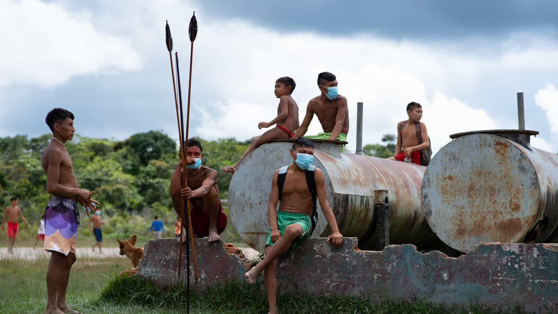 Governo admite falta de barreira contra a Covid em 8 terras indigenas