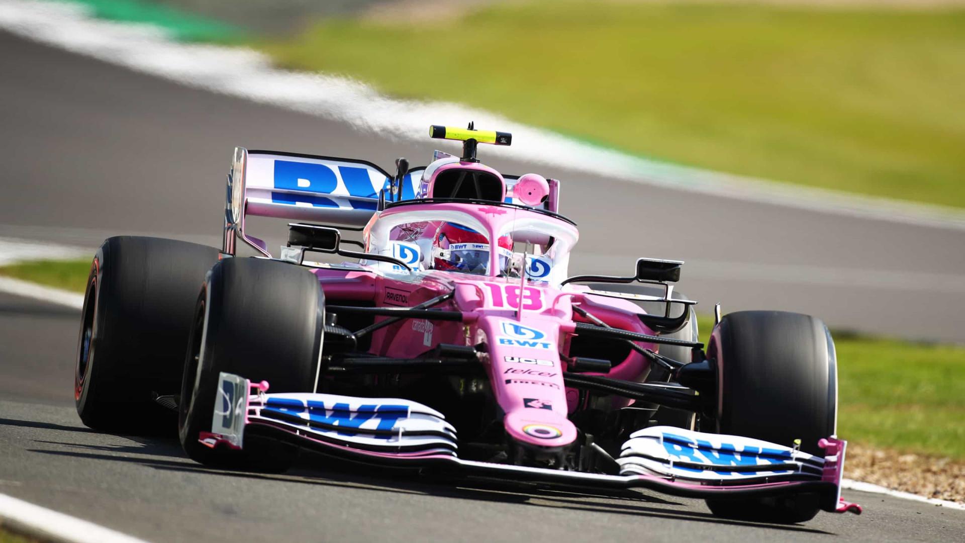 Stroll faz melhor tempo dos treinos e Vettel tem problemas
