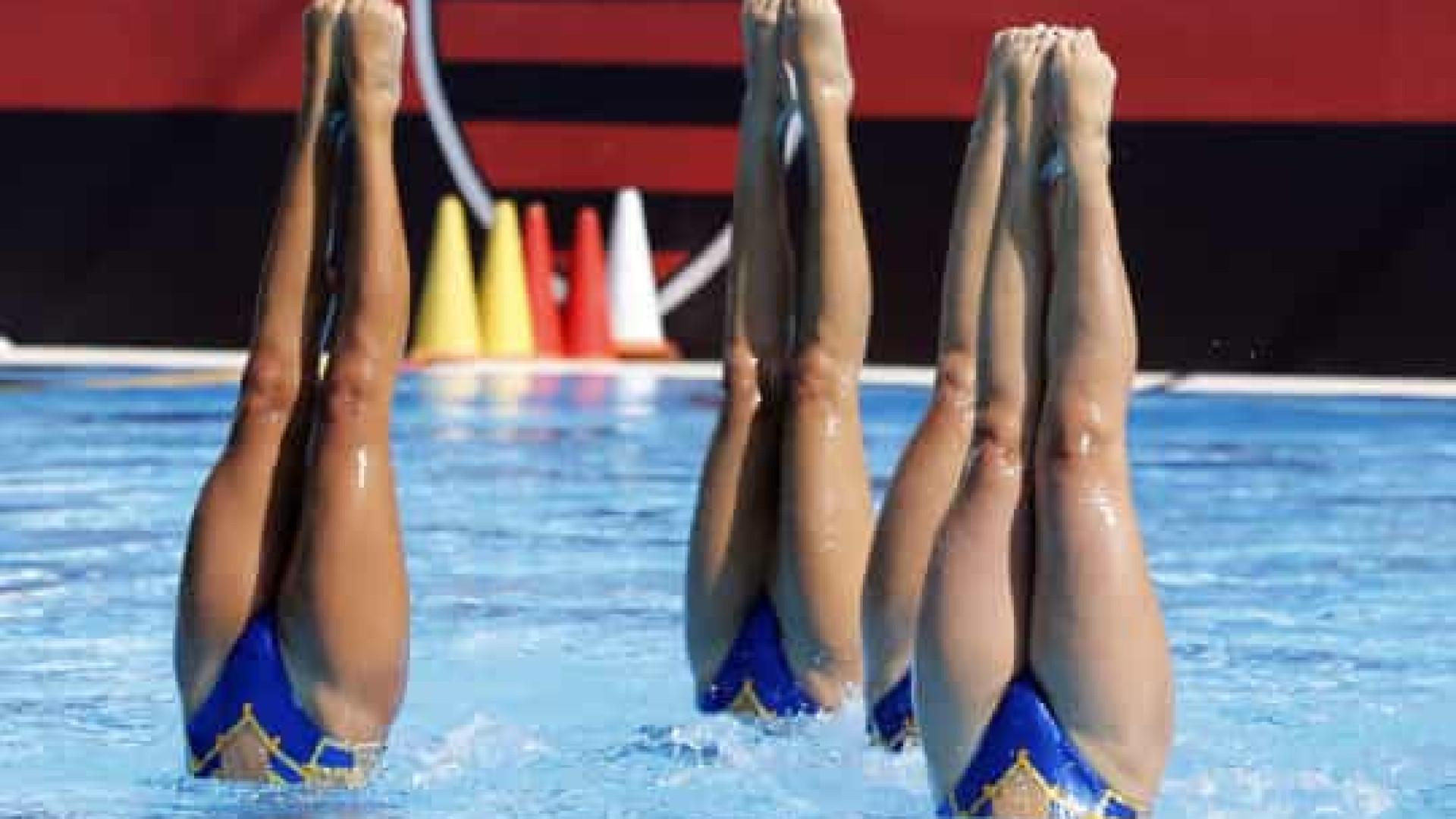 Nado artístico: três amigas disputam vaga no dueto do Pré-olímpico