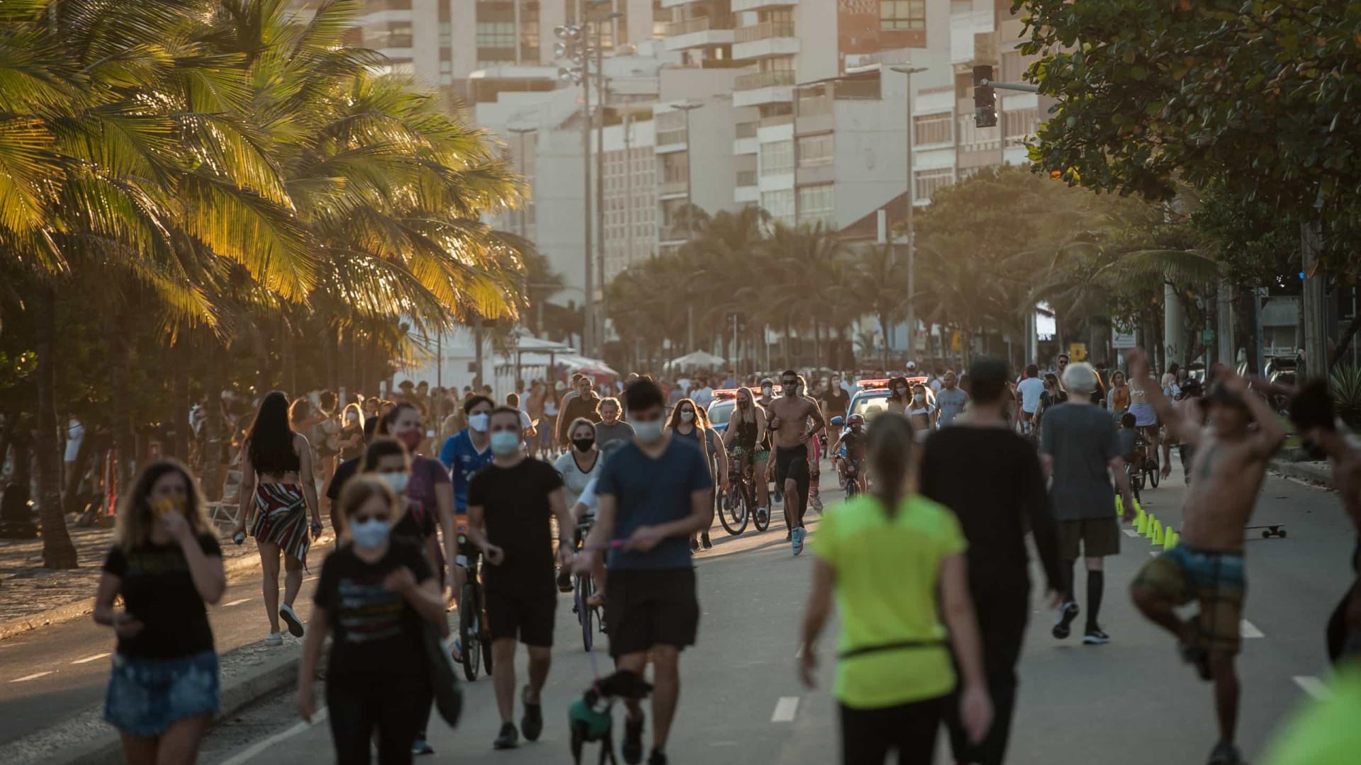 Estado do Rio registra 24 mortes e 605 novos casos de covid-19 em 24 horas