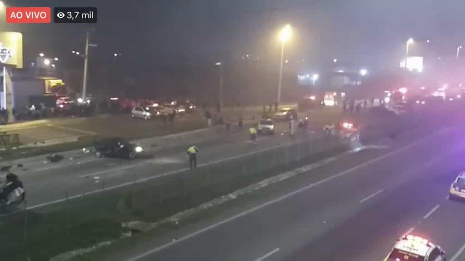 Acidente no Paraná deixa ao menos 8 mortos