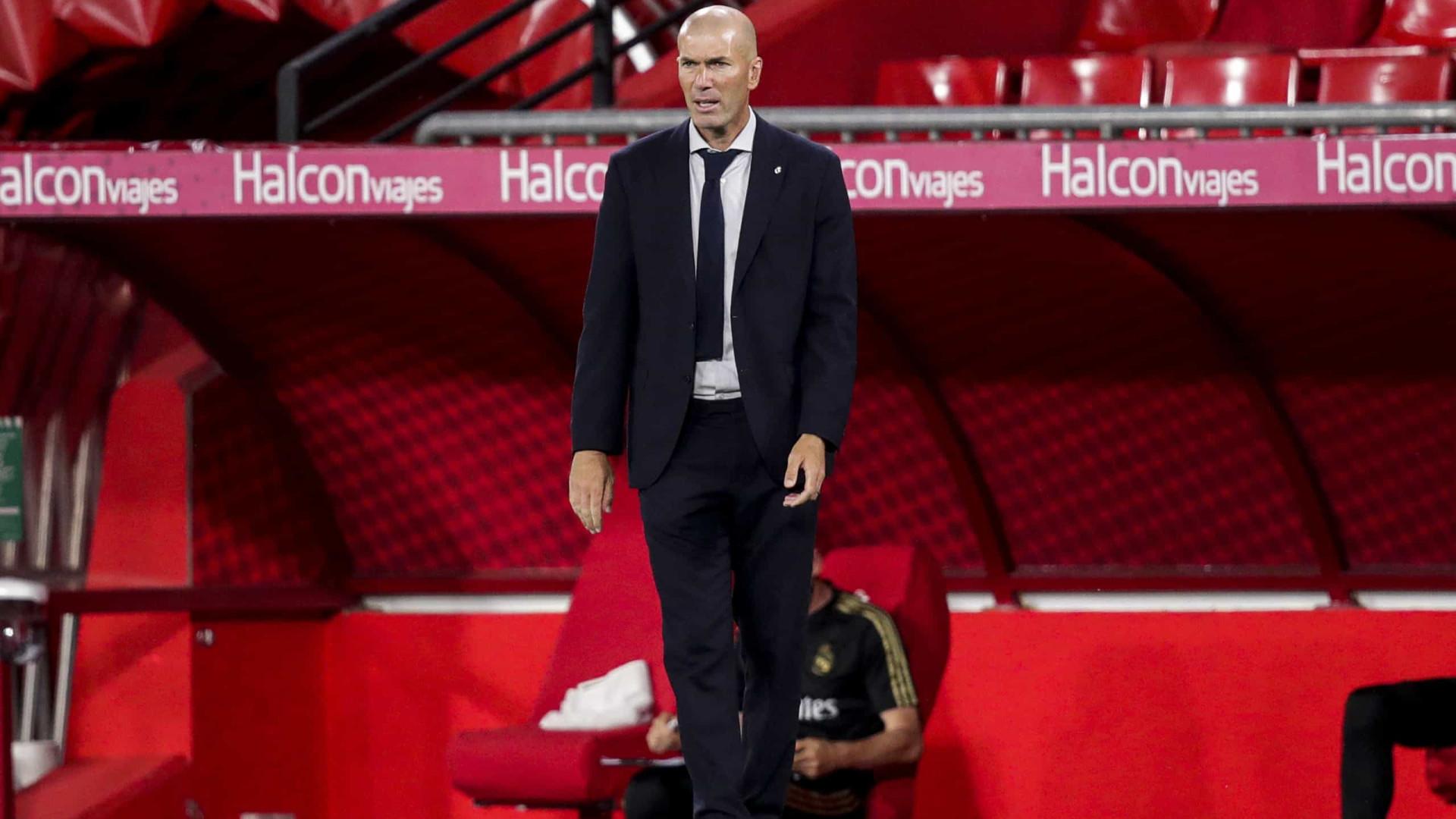 Jornal elege Zidane melhor técnico, à frente de Klopp e Guardiola