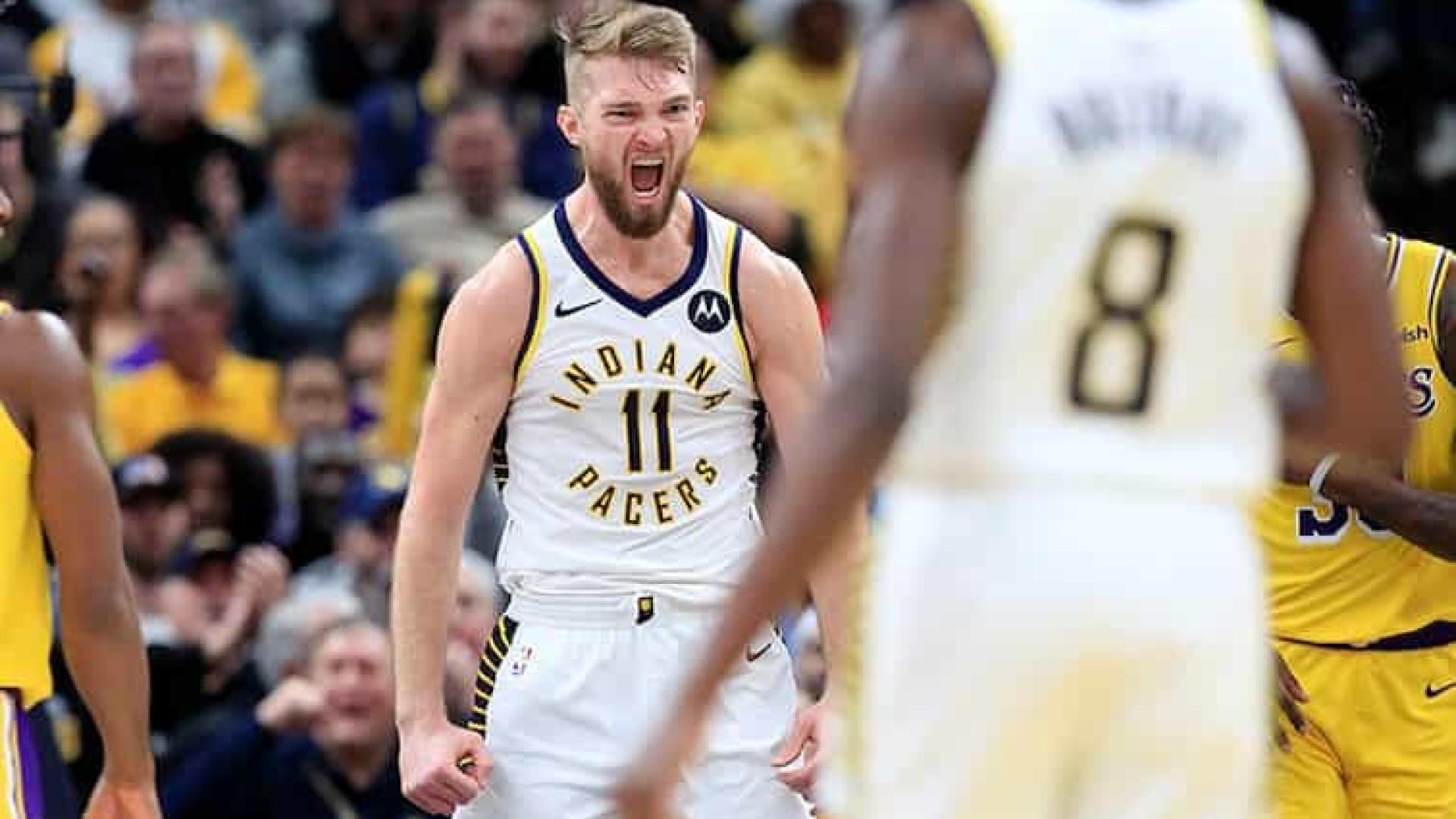 Indiana Pacers bate Miami Heat em prévia do confronto nos playoffs da NBA